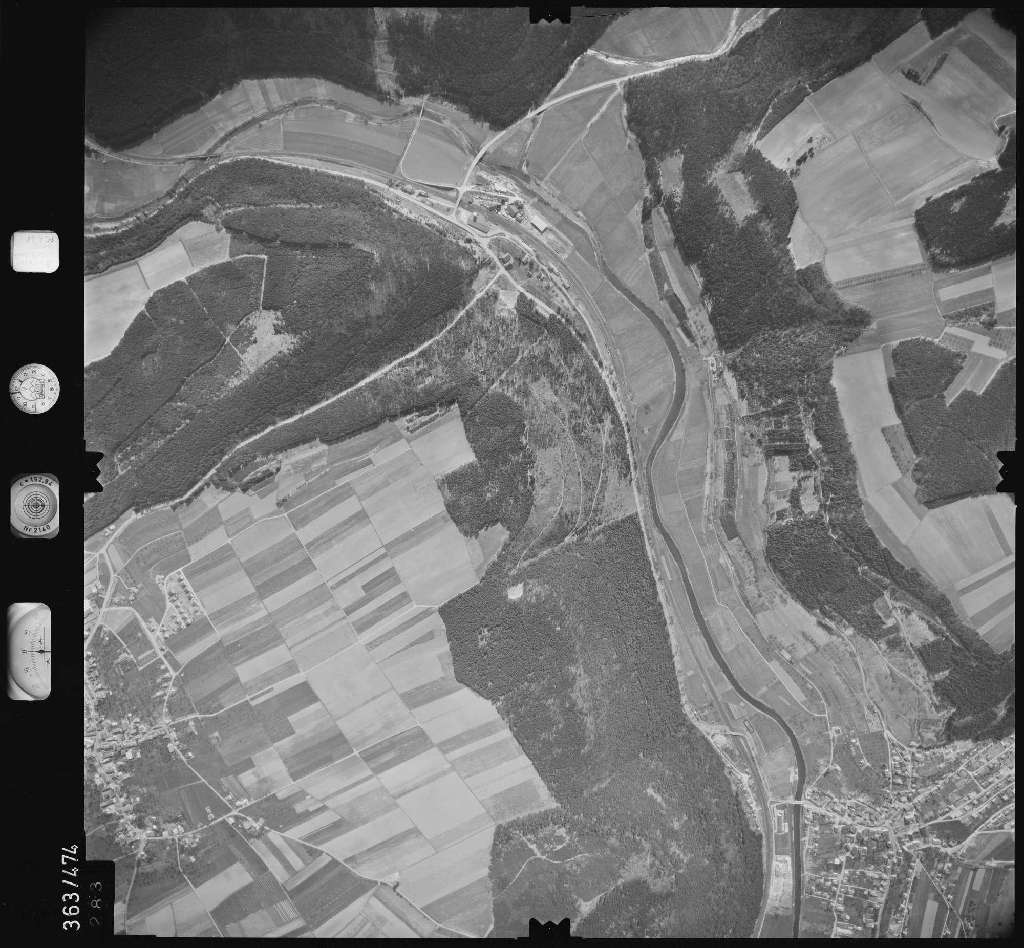 Luftbild: Film 45 Bildnr. 283, Bild 1