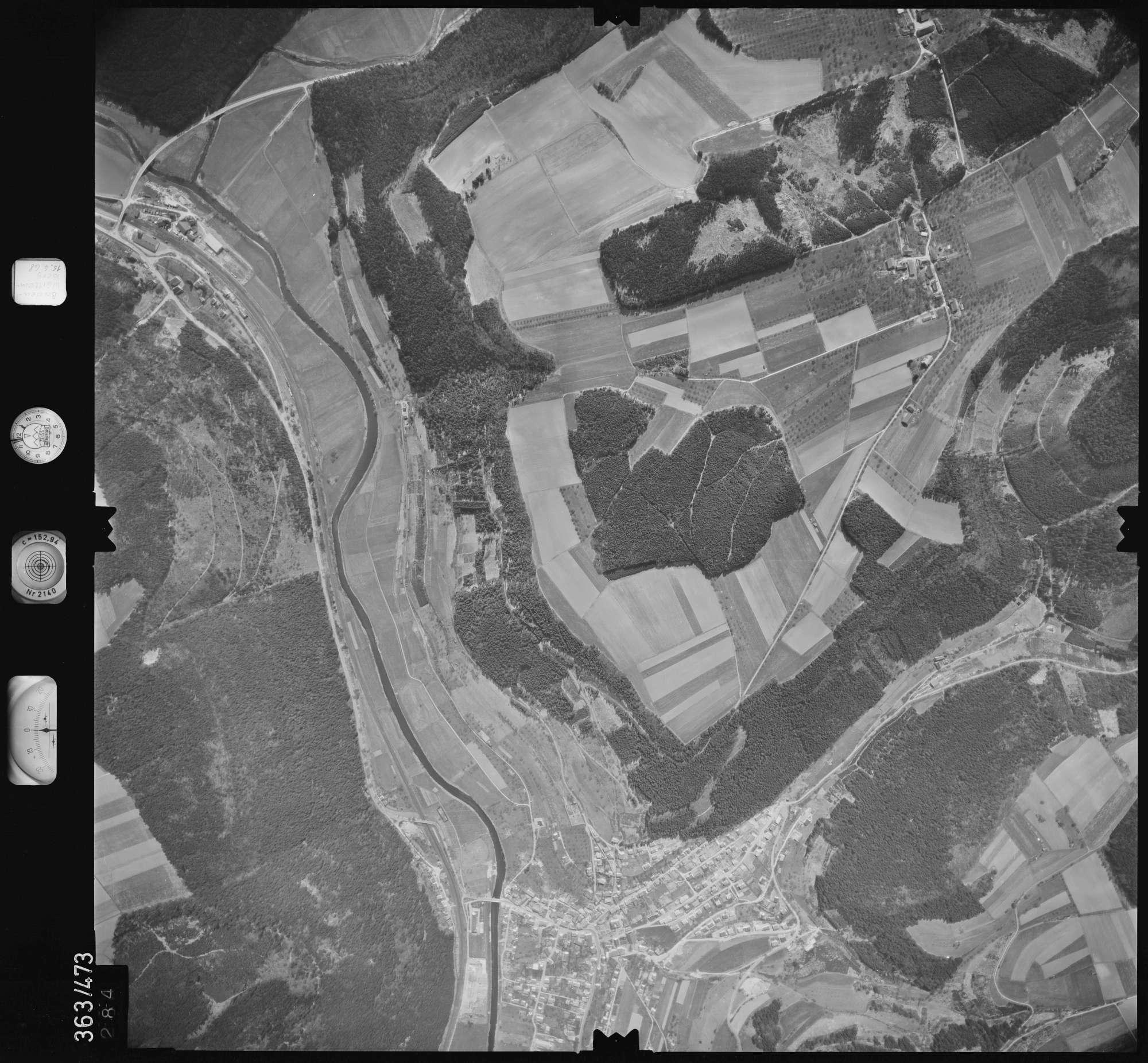 Luftbild: Film 45 Bildnr. 284, Bild 1