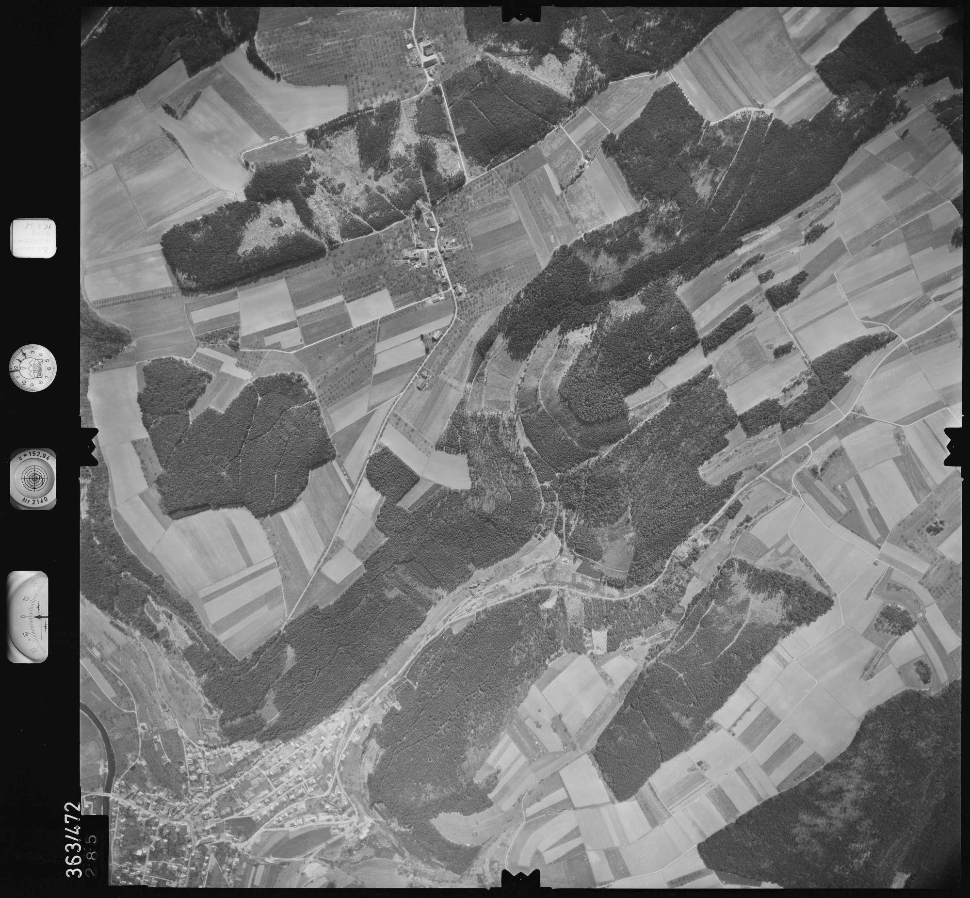 Luftbild: Film 45 Bildnr. 285, Bild 1
