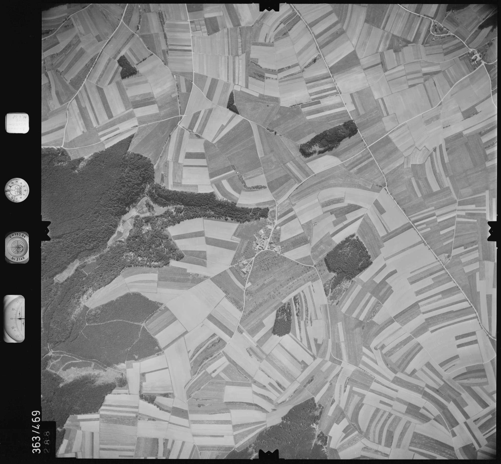 Luftbild: Film 45 Bildnr. 288, Bild 1
