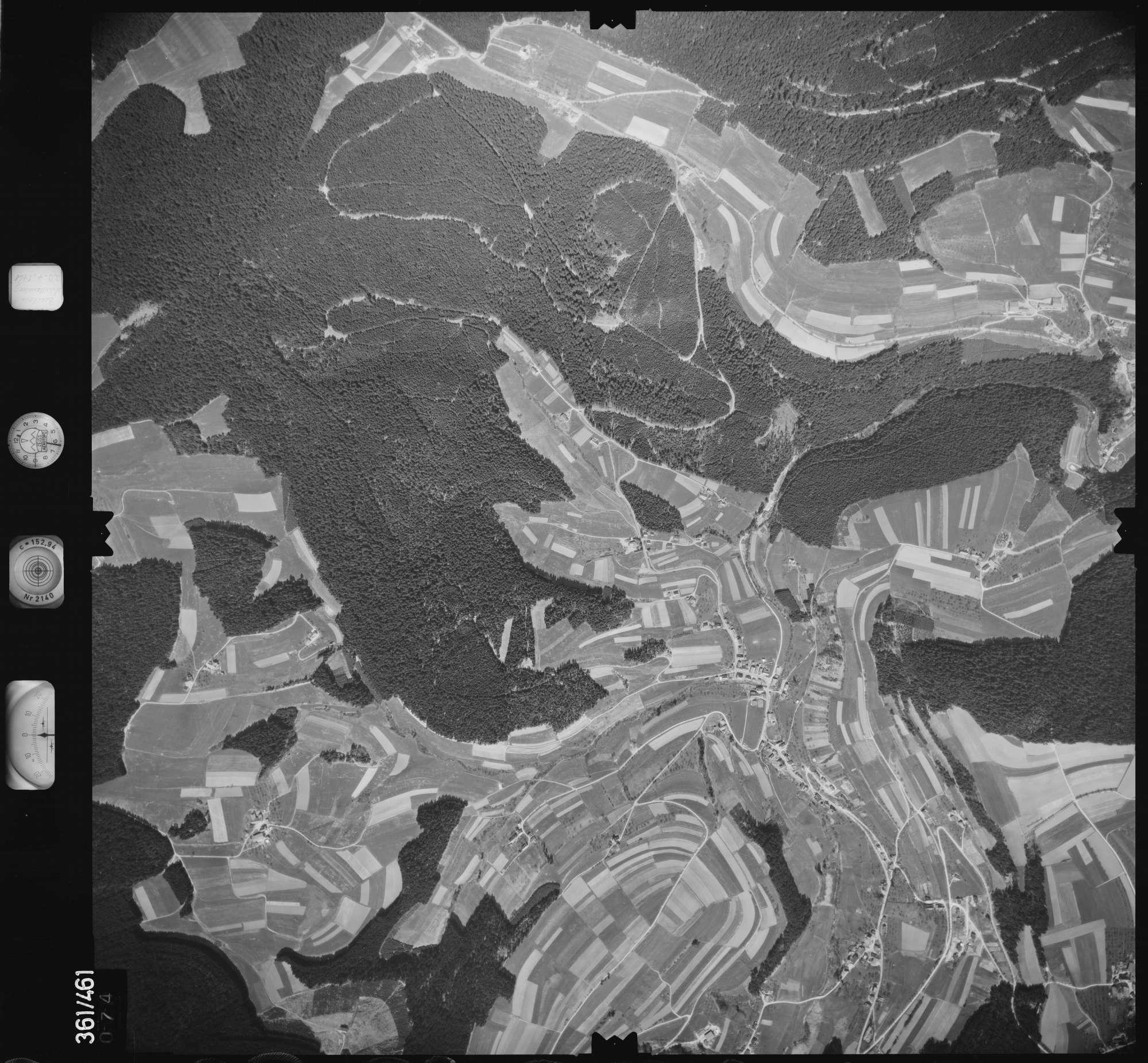 Luftbild: Film 15 Bildnr. 74, Bild 1
