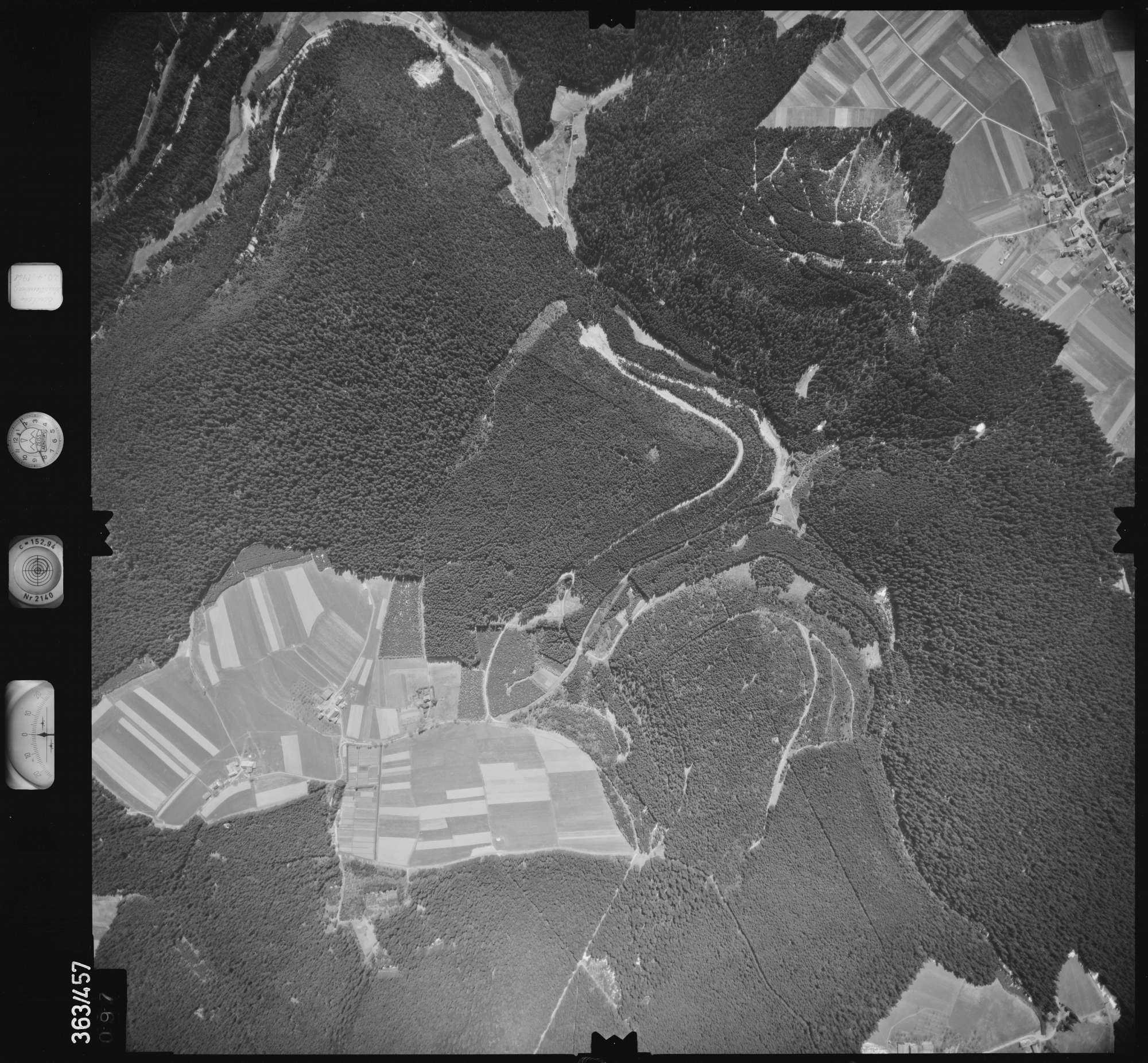 Luftbild: Film 15 Bildnr. 97, Bild 1
