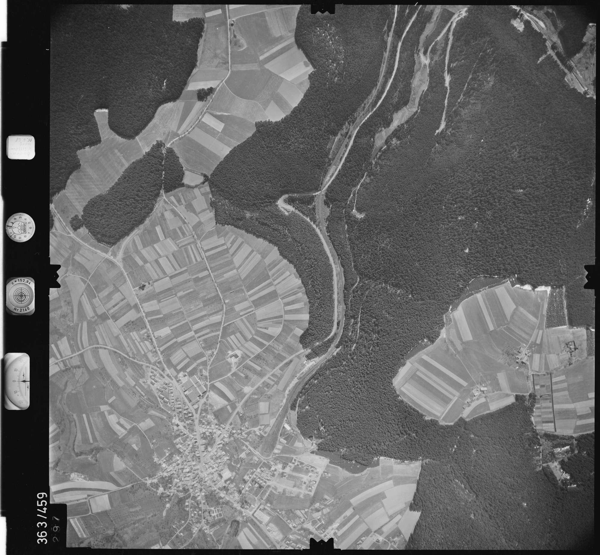 Luftbild: Film 45 Bildnr. 297, Bild 1