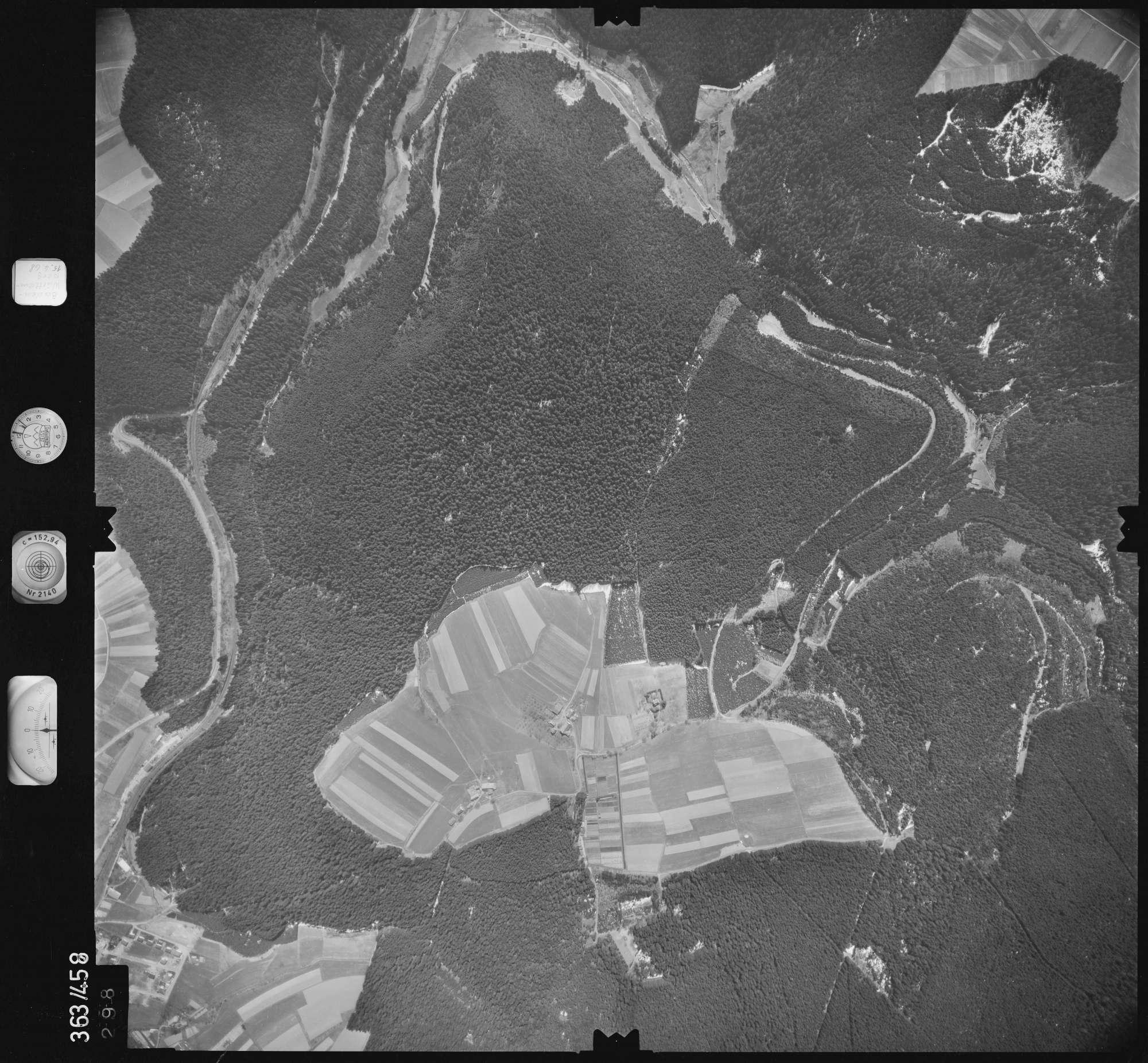 Luftbild: Film 45 Bildnr. 298, Bild 1