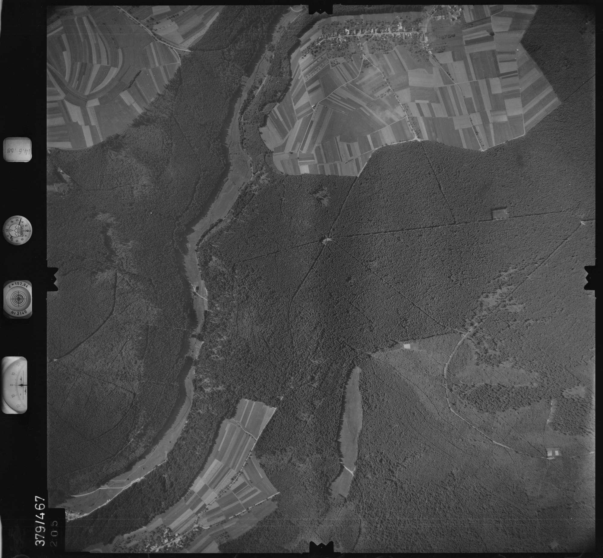 Luftbild: Film 21 Bildnr. 205, Bild 1
