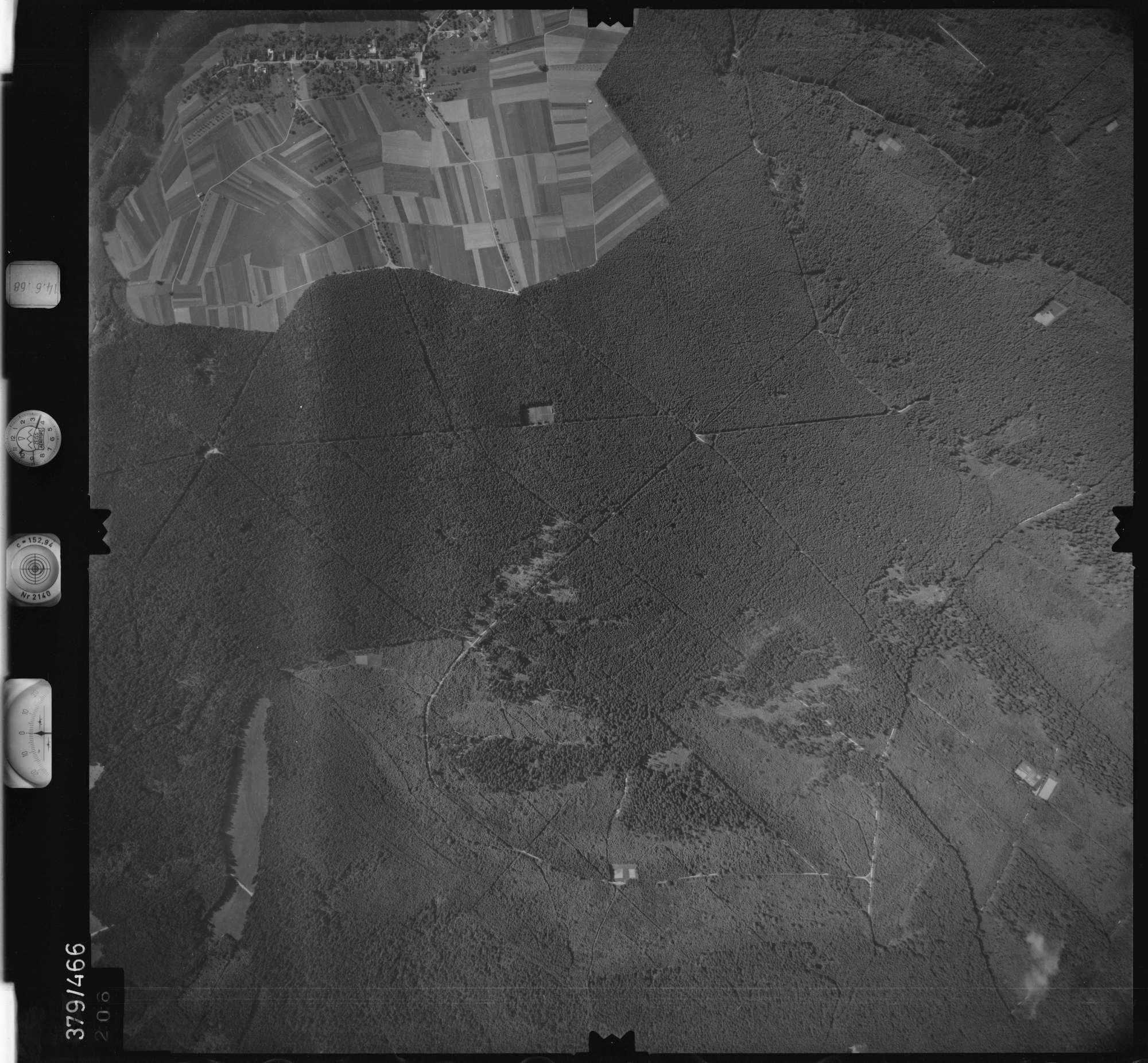 Luftbild: Film 21 Bildnr. 206, Bild 1