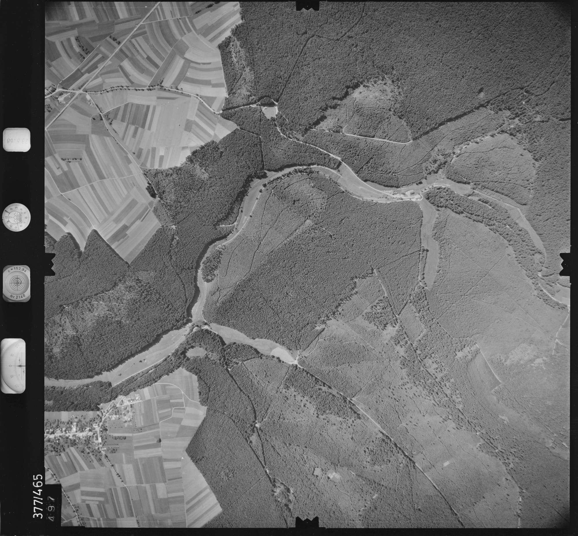 Luftbild: Film 29 Bildnr. 497, Bild 1
