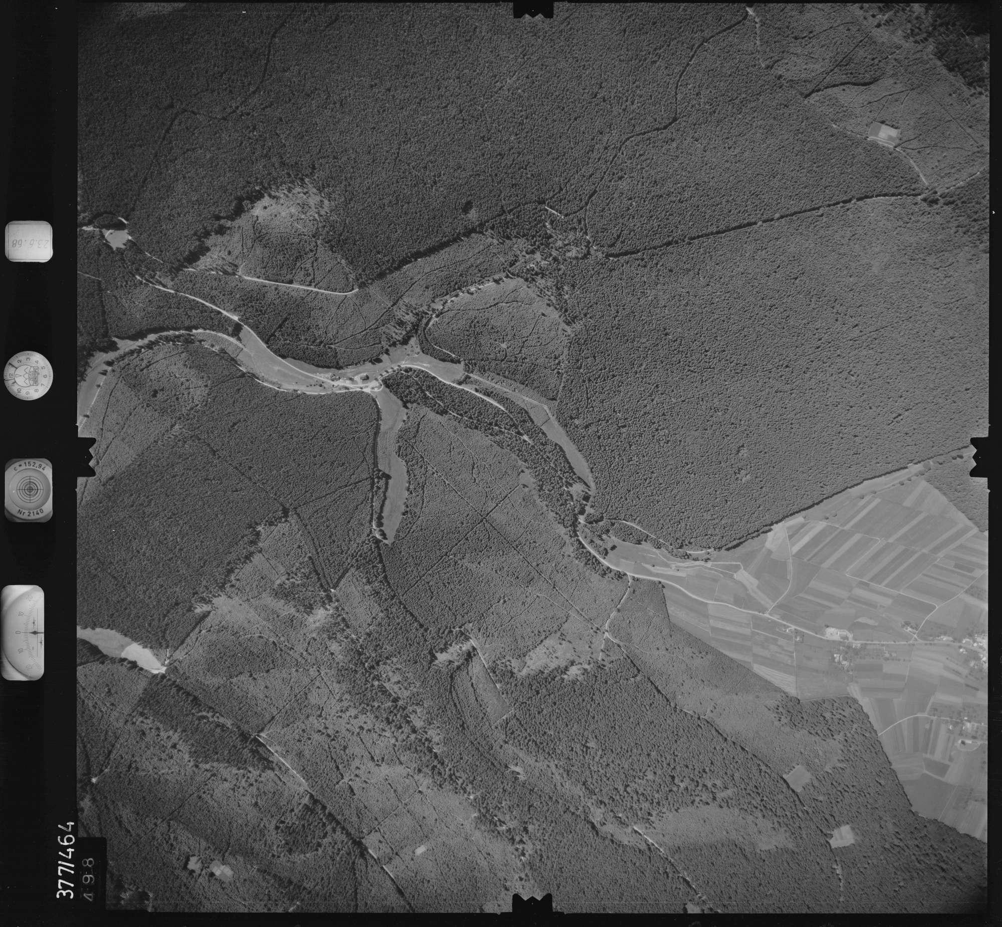 Luftbild: Film 29 Bildnr. 498, Bild 1