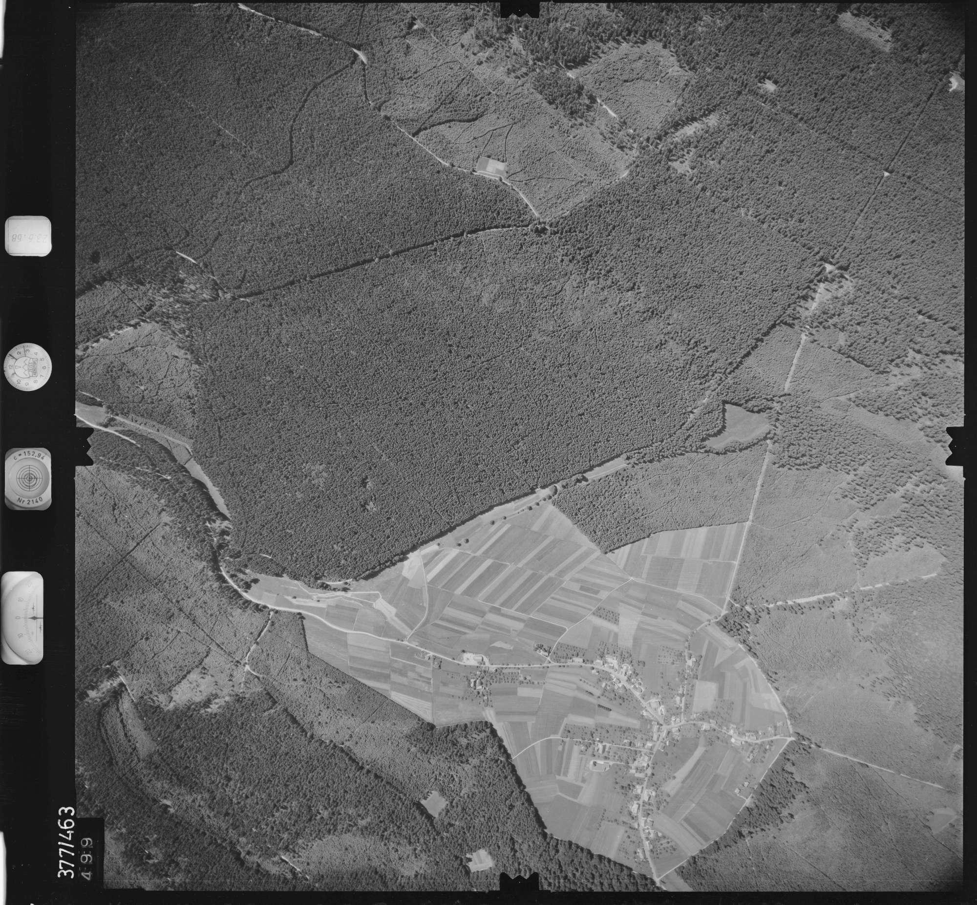 Luftbild: Film 29 Bildnr. 499, Bild 1