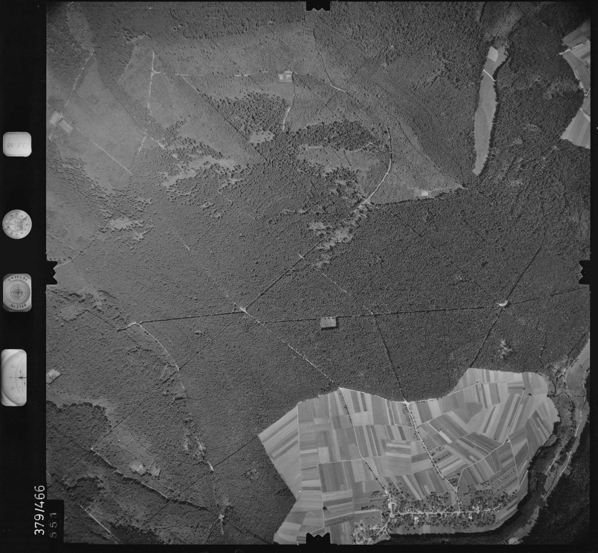 Luftbild: Film 29 Bildnr. 551, Bild 1