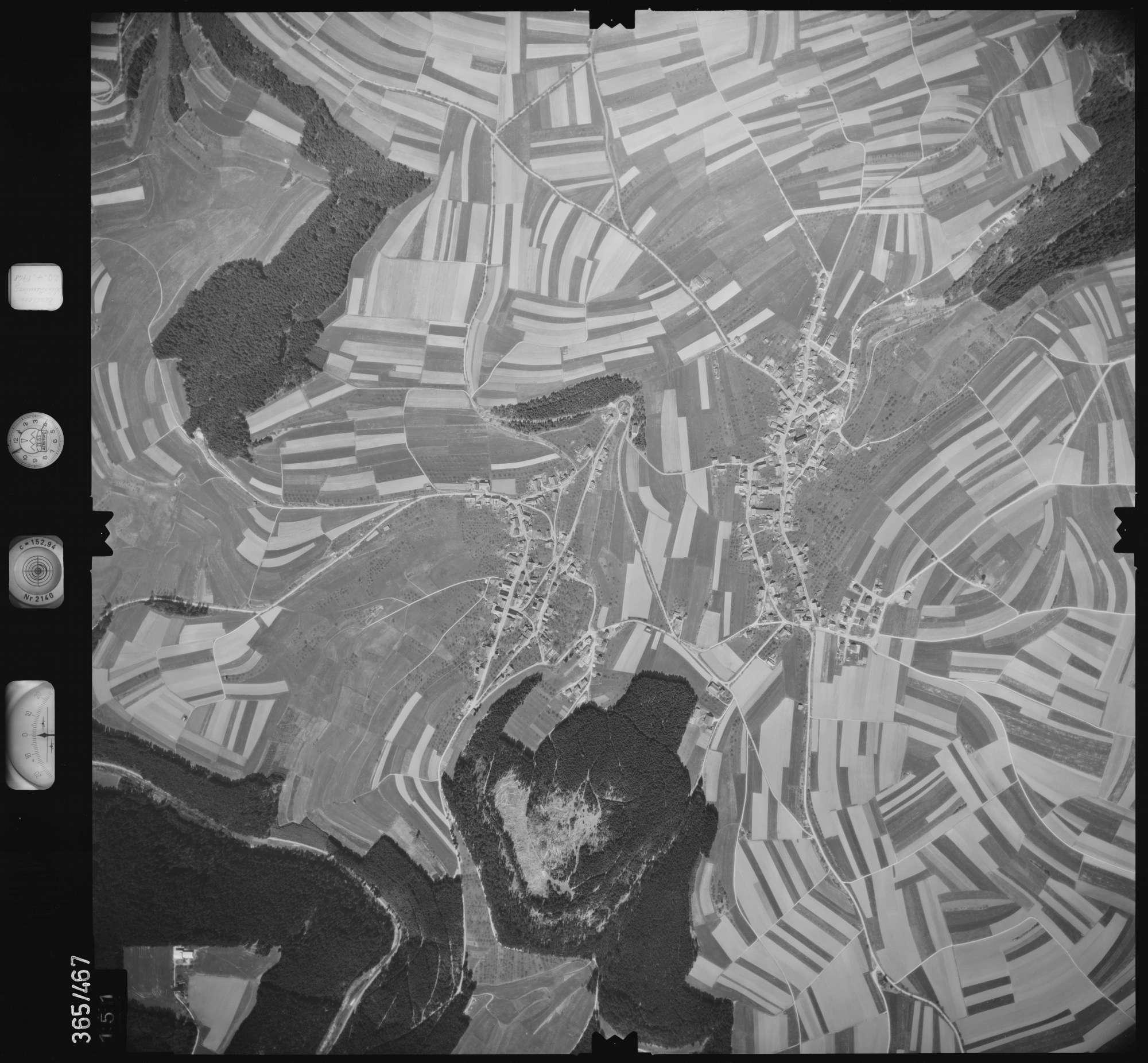 Luftbild: Film 15 Bildnr. 151, Bild 1