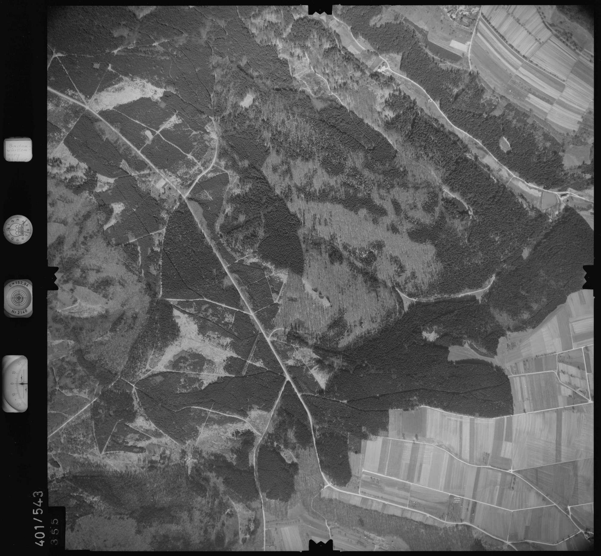 Luftbild: Film 10 Bildnr. 355, Bild 1
