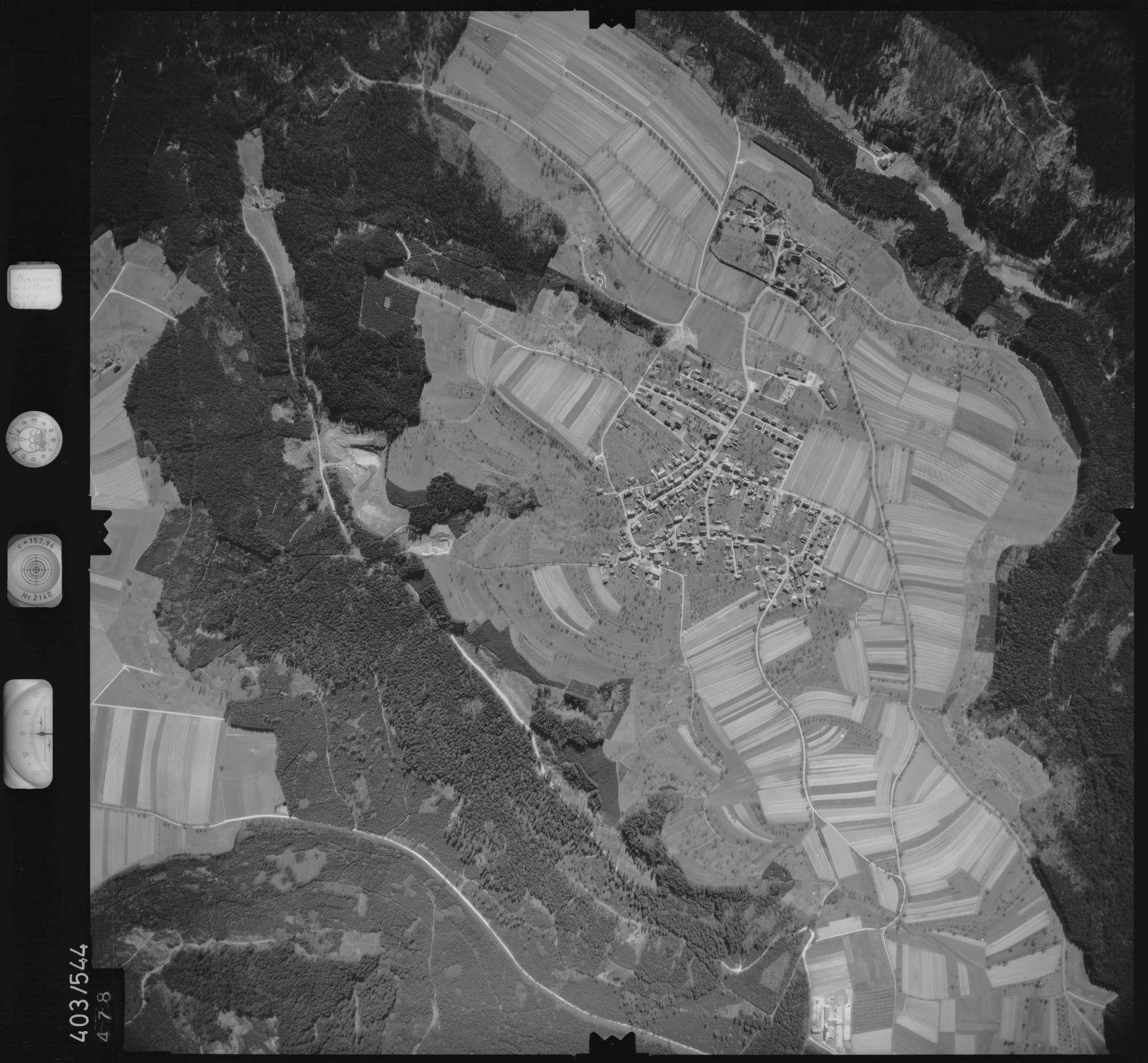 Luftbild: Film 10 Bildnr. 478, Bild 1