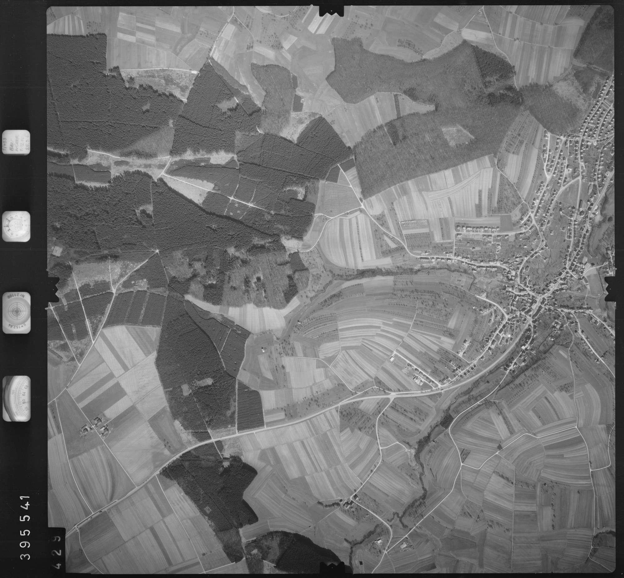 Luftbild: Film 13 Bildnr. 429, Bild 1