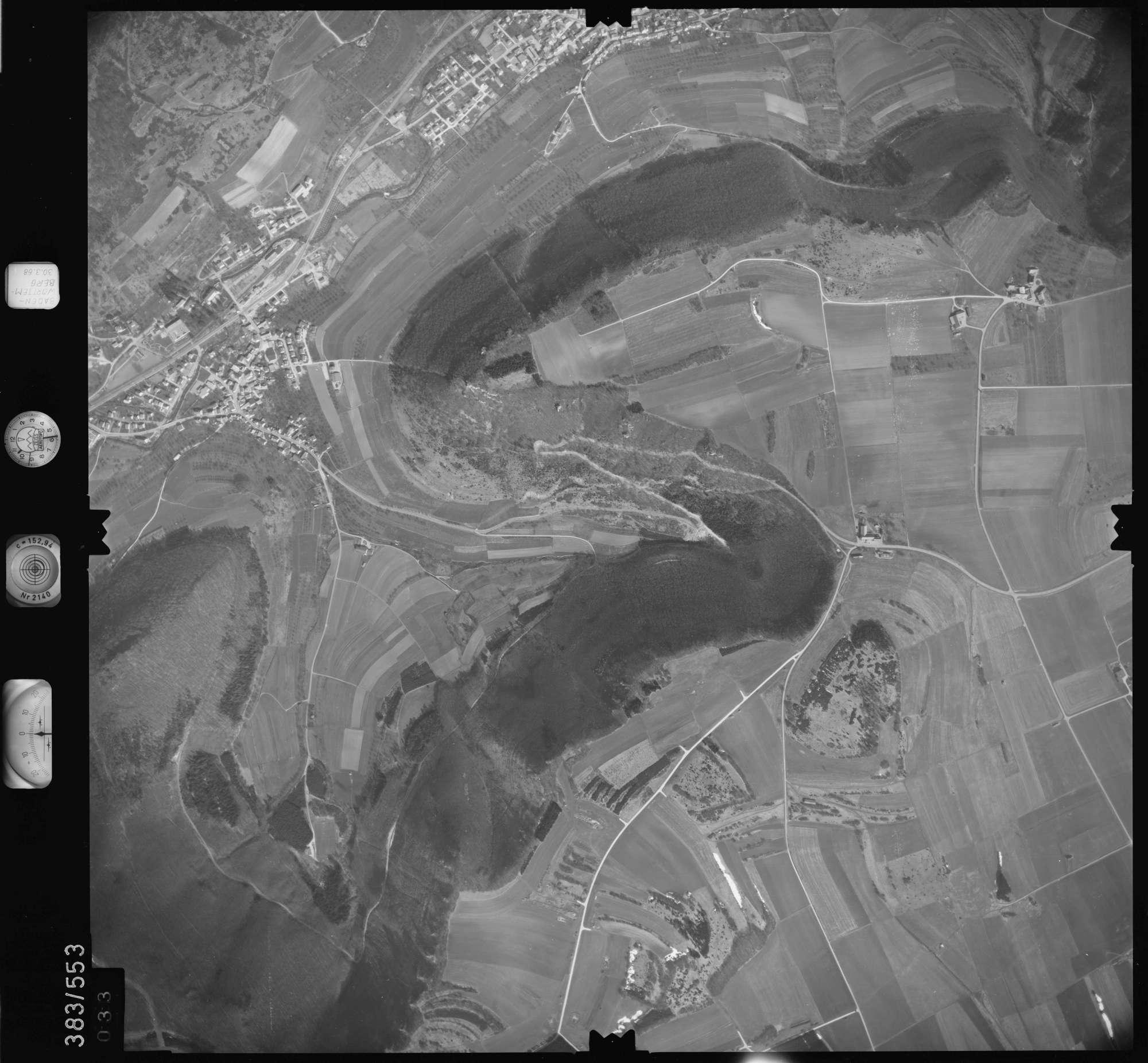 Luftbild: Film 27 Bildnr. 33, Bild 1