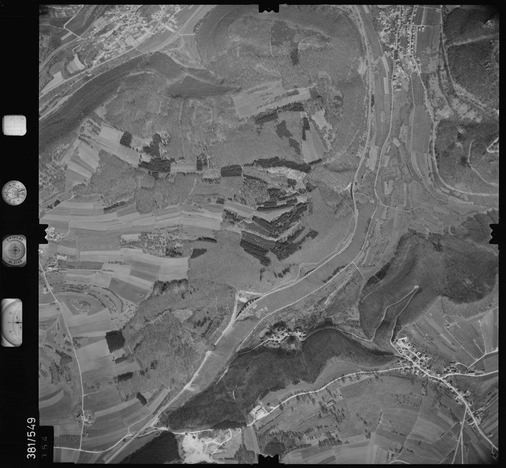 Luftbild: Film 32 Bildnr. 154, Bild 1