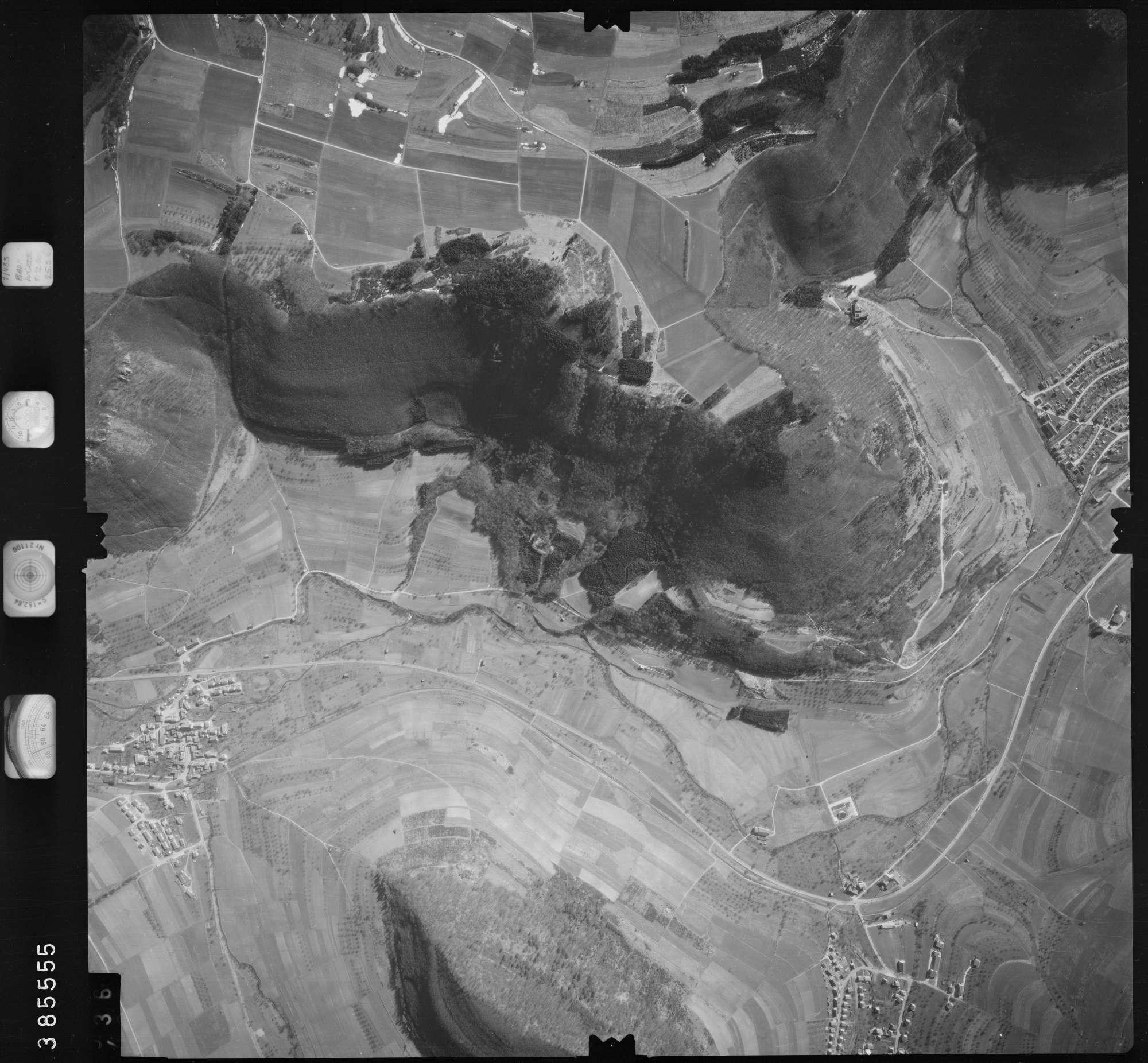 Luftbild: Film 23 Bildnr. 435, Bild 1