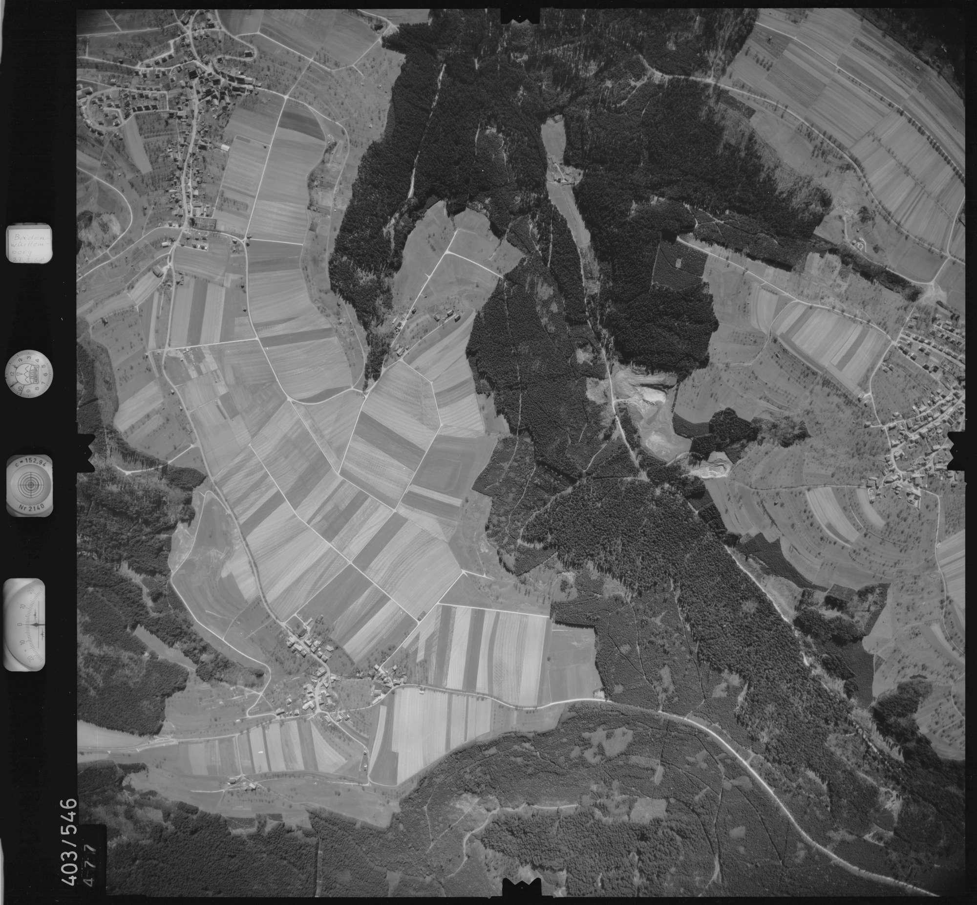 Luftbild: Film 10 Bildnr. 477, Bild 1
