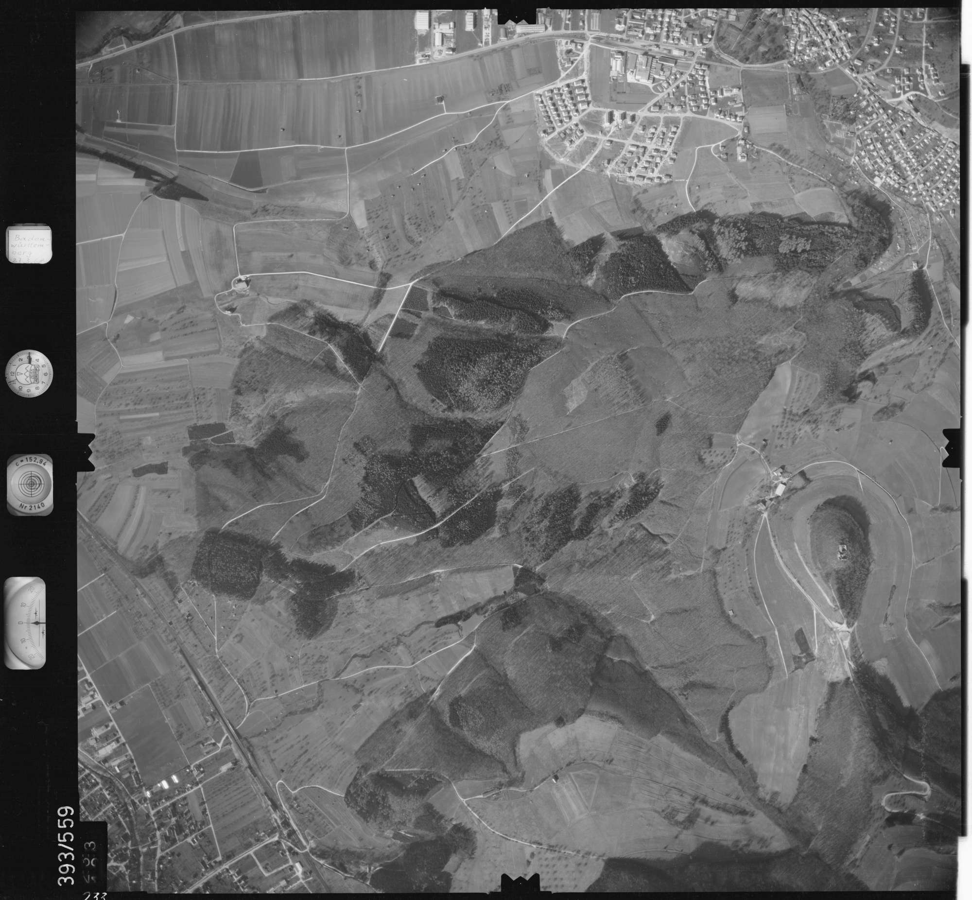 Luftbild: Film 24 Bildnr. 233, Bild 1
