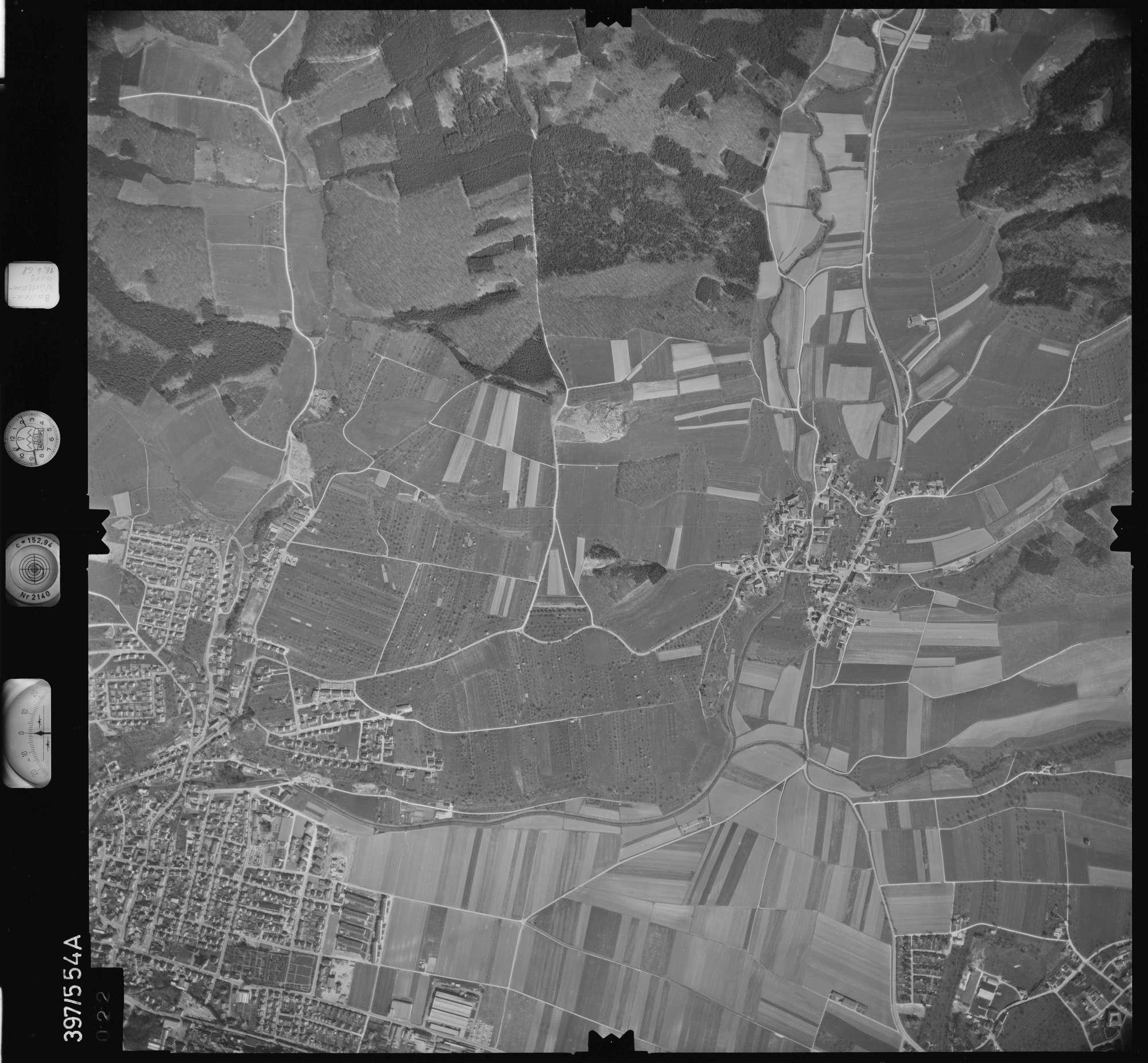 Luftbild: Film 32 Bildnr. 22, Bild 1