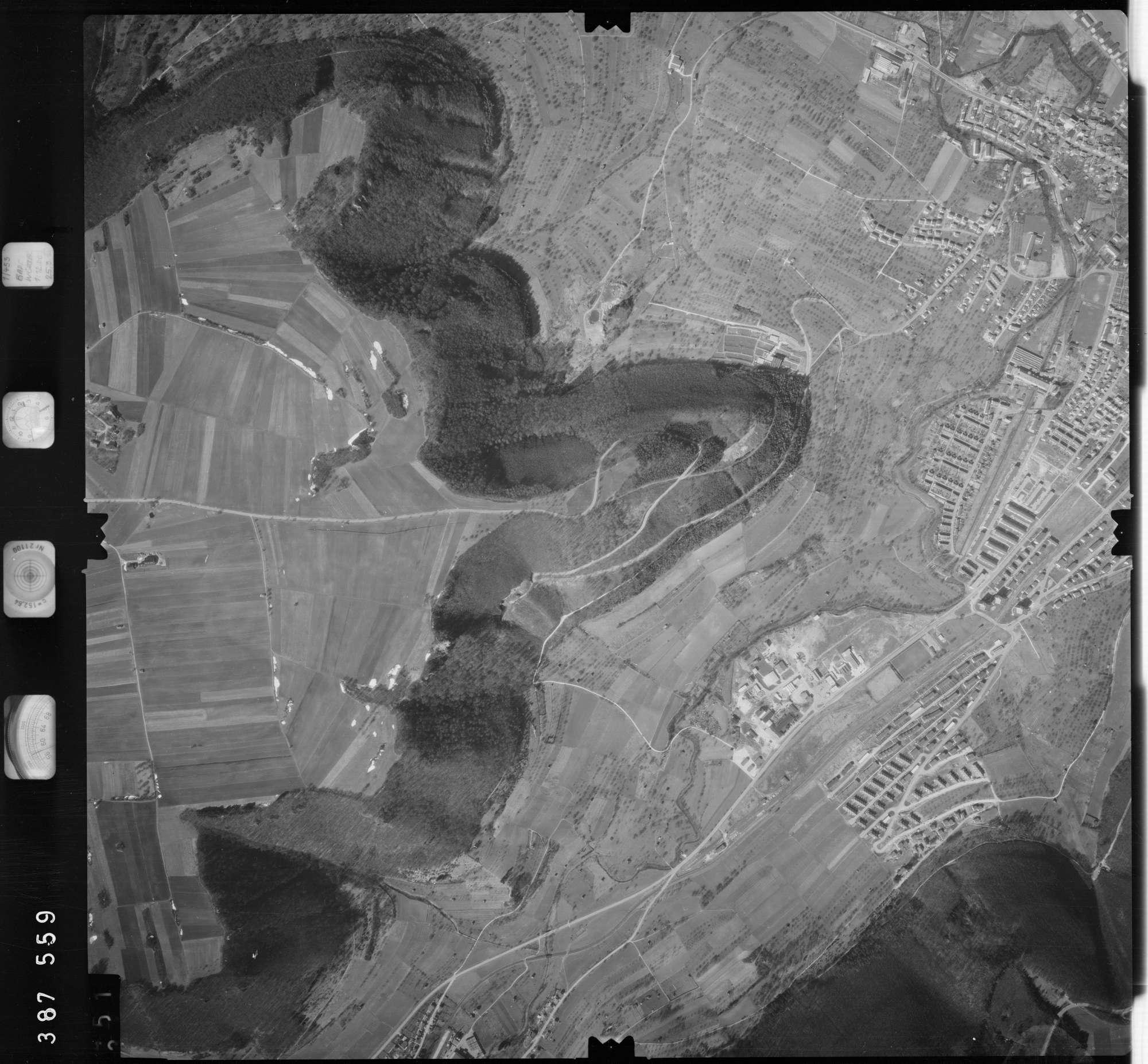 Luftbild: Film 23 Bildnr. 350, Bild 1
