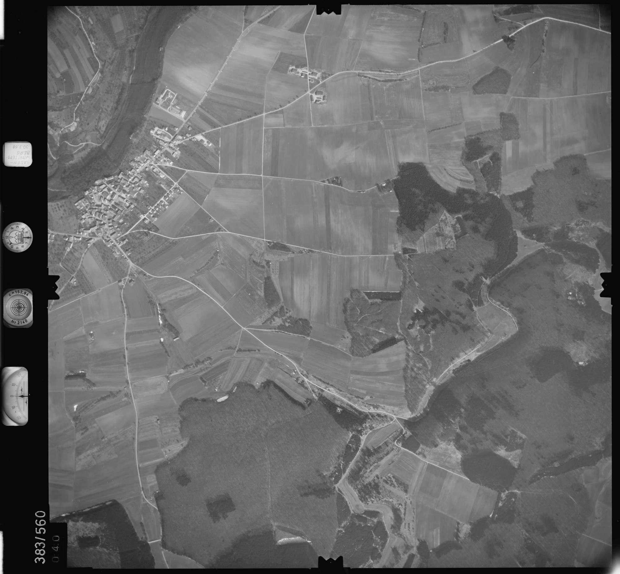 Luftbild: Film 27 Bildnr. 40, Bild 1