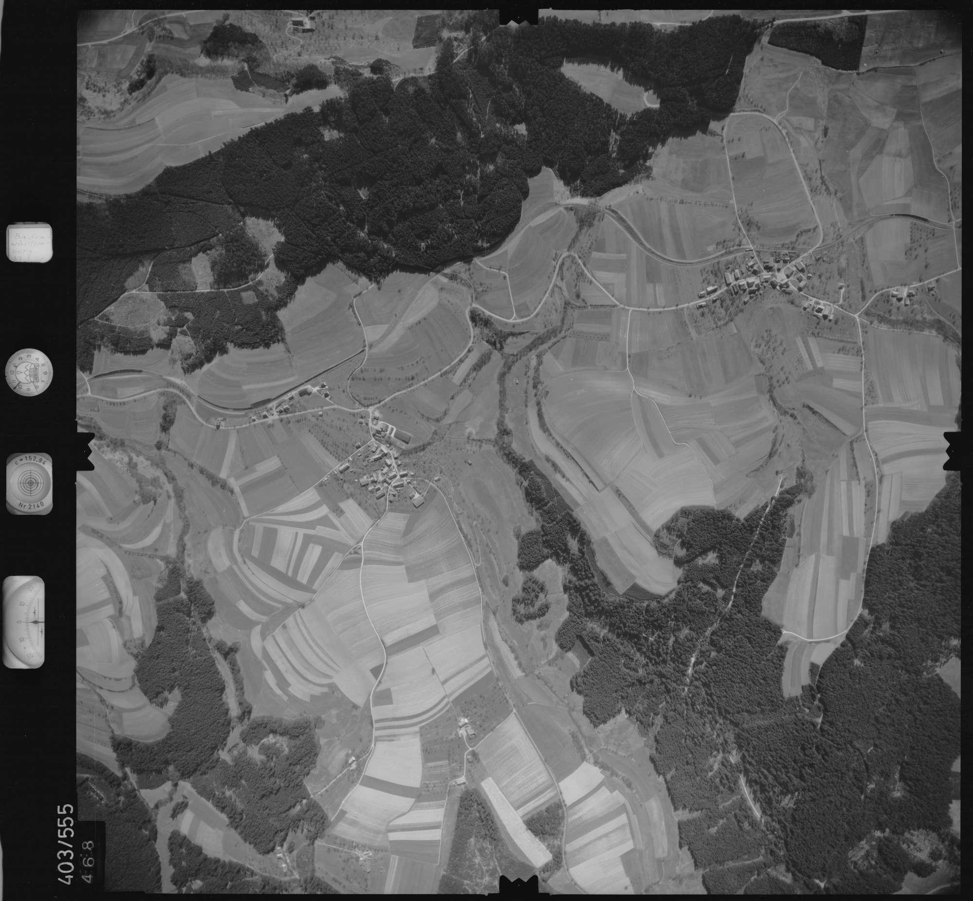 Luftbild: Film 10 Bildnr. 468, Bild 1
