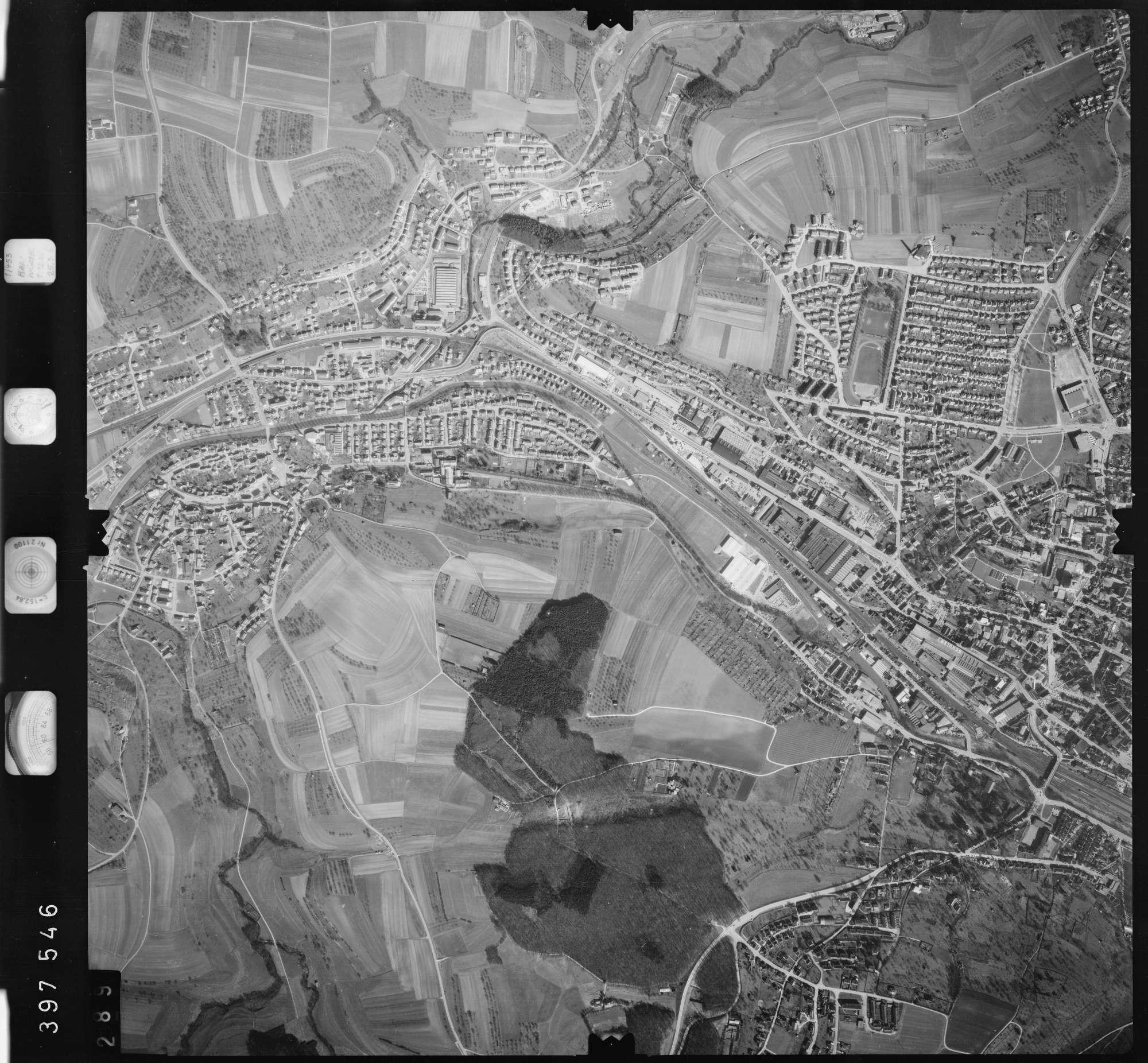 Luftbild: Film 13 Bildnr. 289, Bild 1
