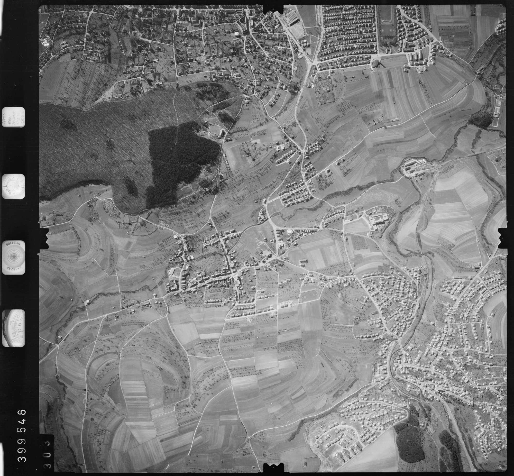 Luftbild: Film 13 Bildnr. 303, Bild 1