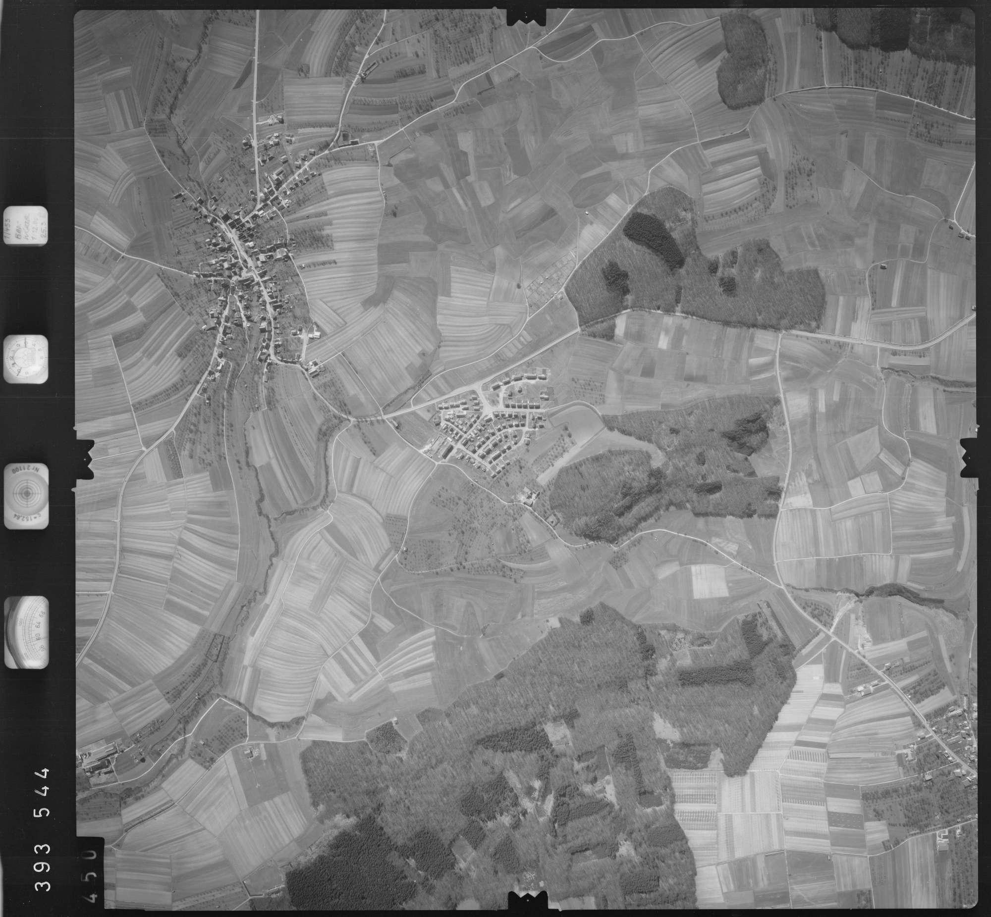 Luftbild: Film 13 Bildnr. 450, Bild 1