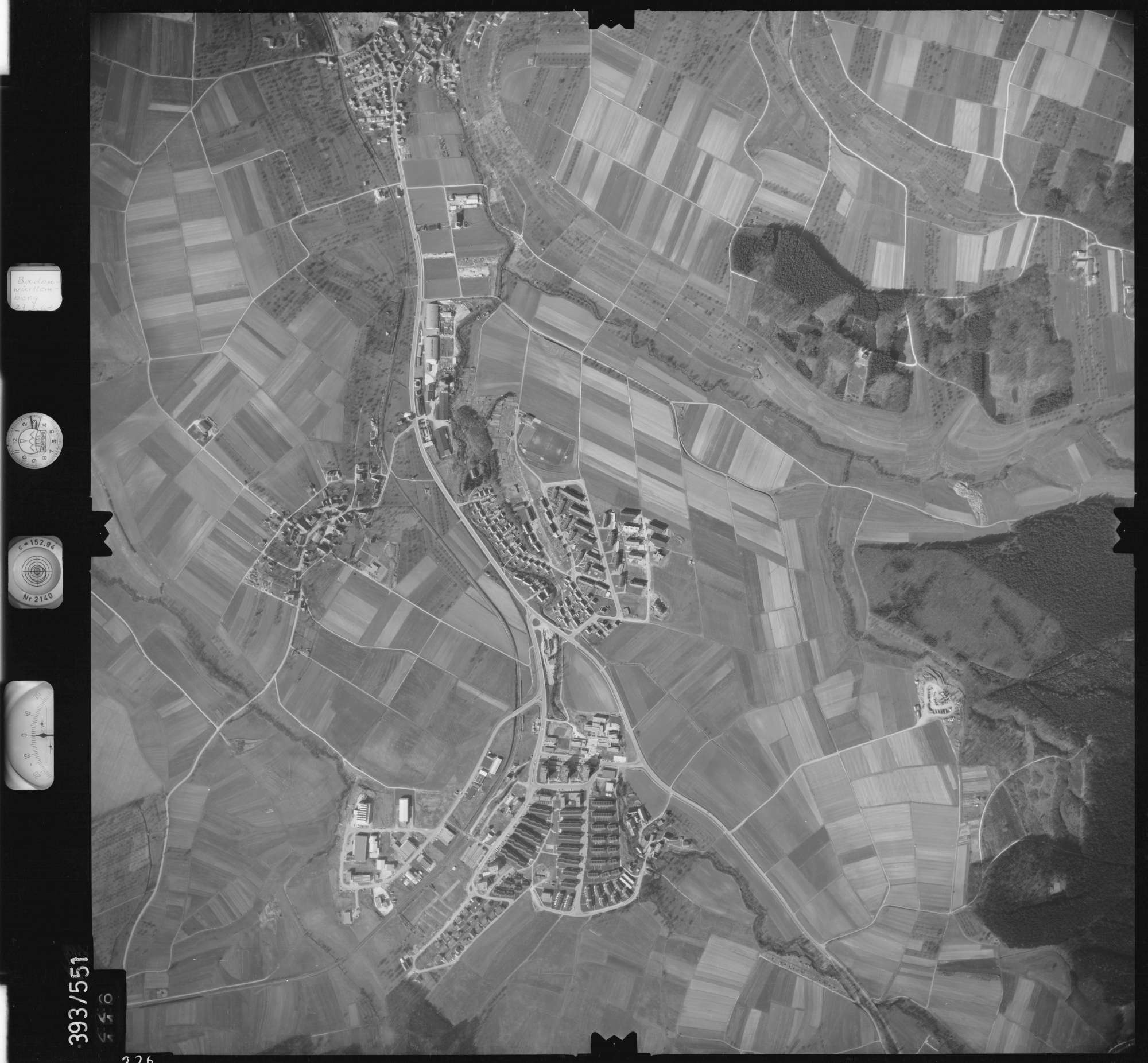 Luftbild: Film 24 Bildnr. 226, Bild 1