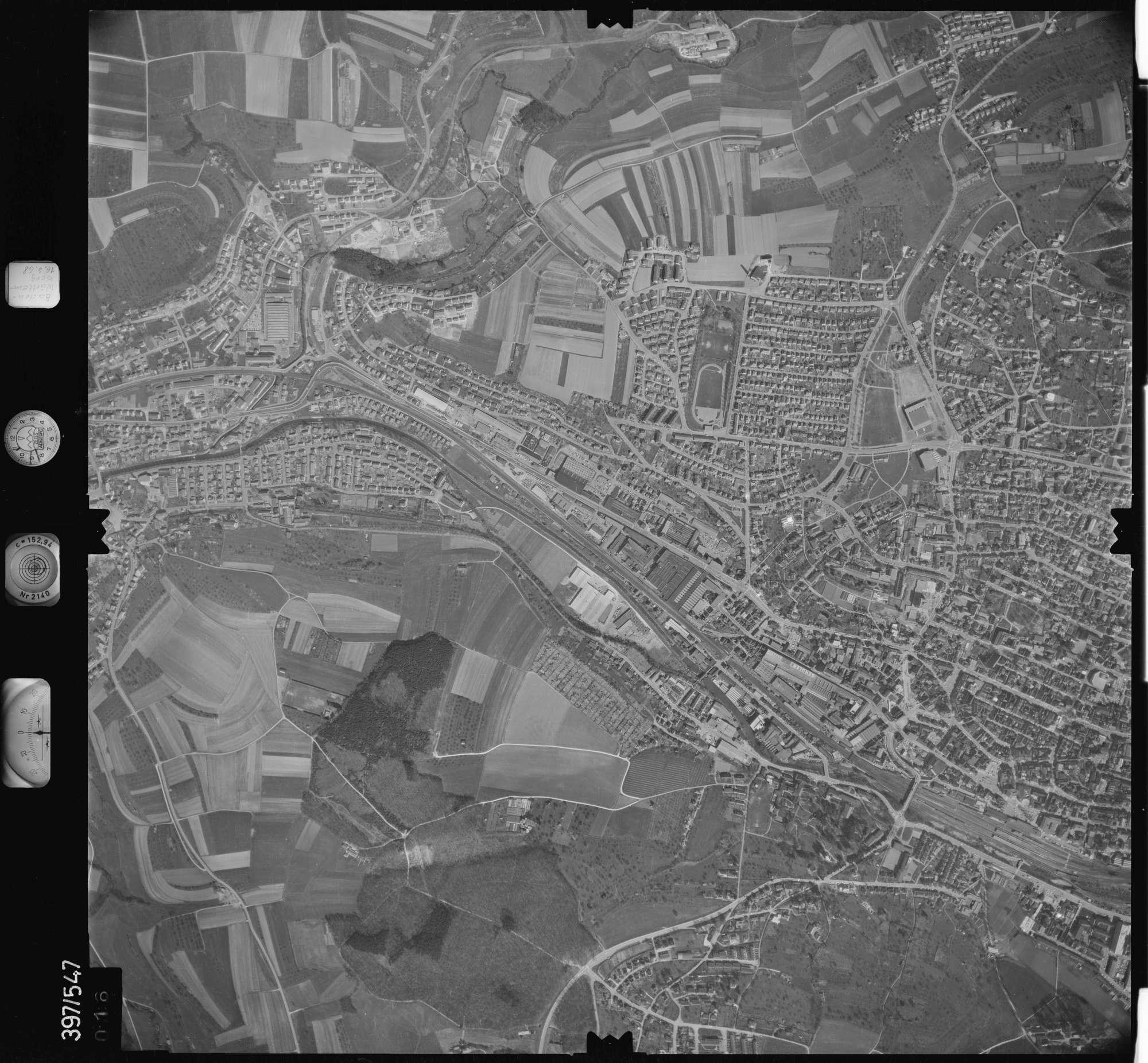 Luftbild: Film 32 Bildnr. 16, Bild 1