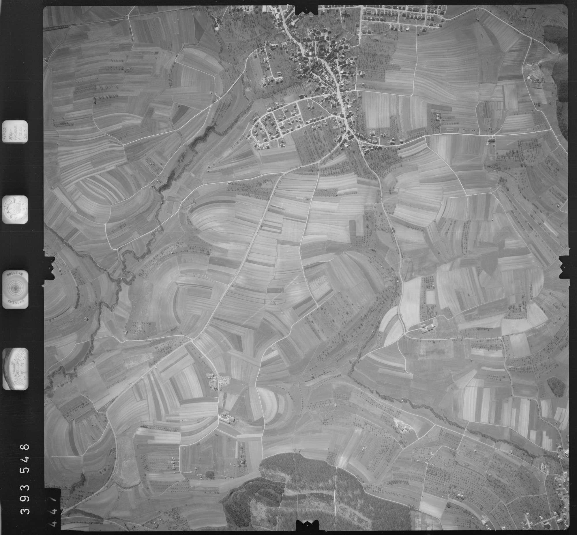 Luftbild: Film 13 Bildnr. 447, Bild 1
