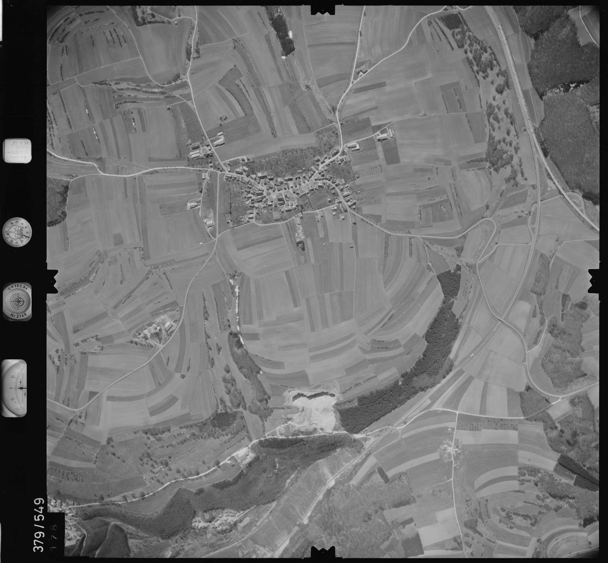 Luftbild: Film 32 Bildnr. 178, Bild 1