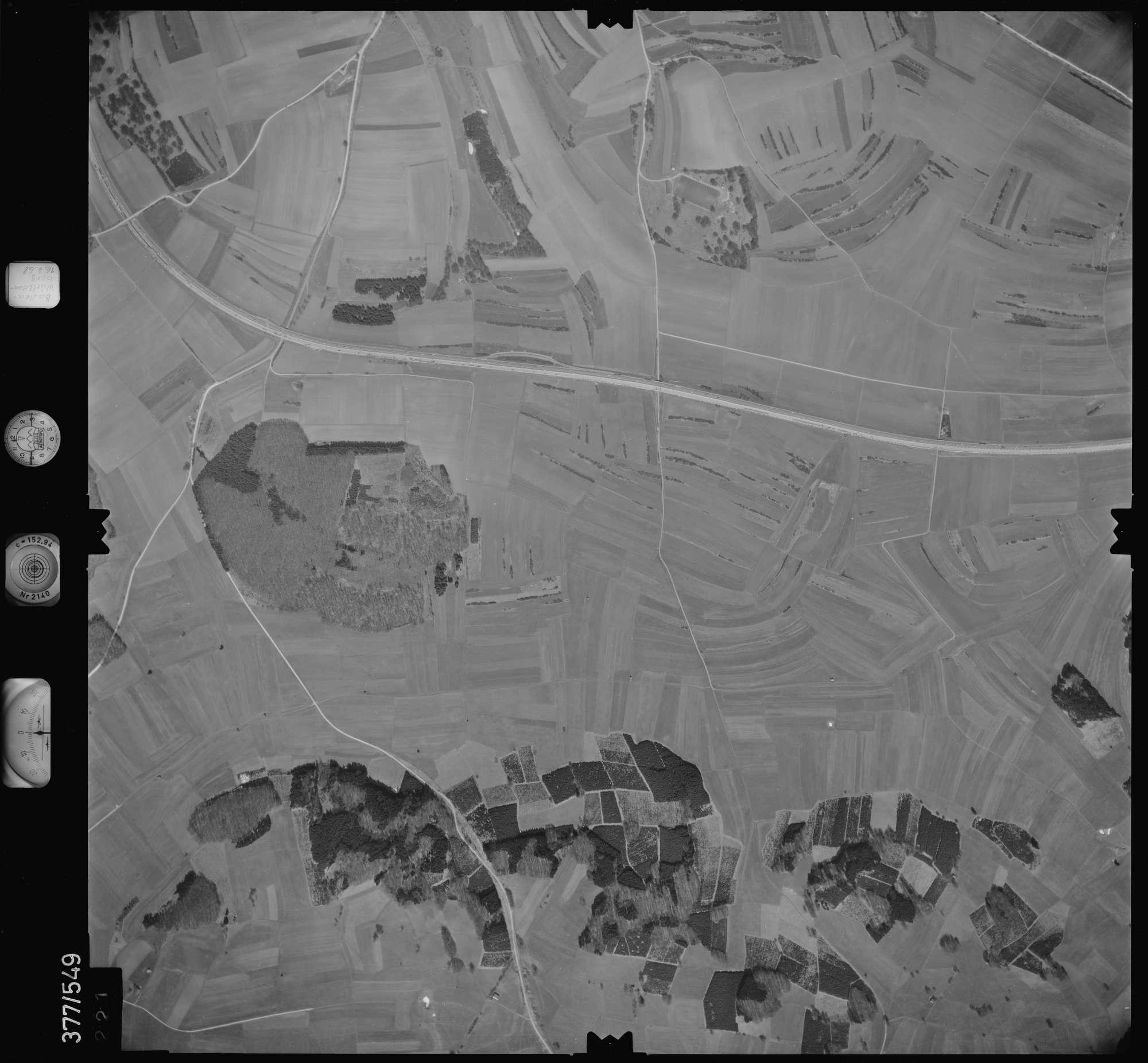 Luftbild: Film 32 Bildnr. 221, Bild 1
