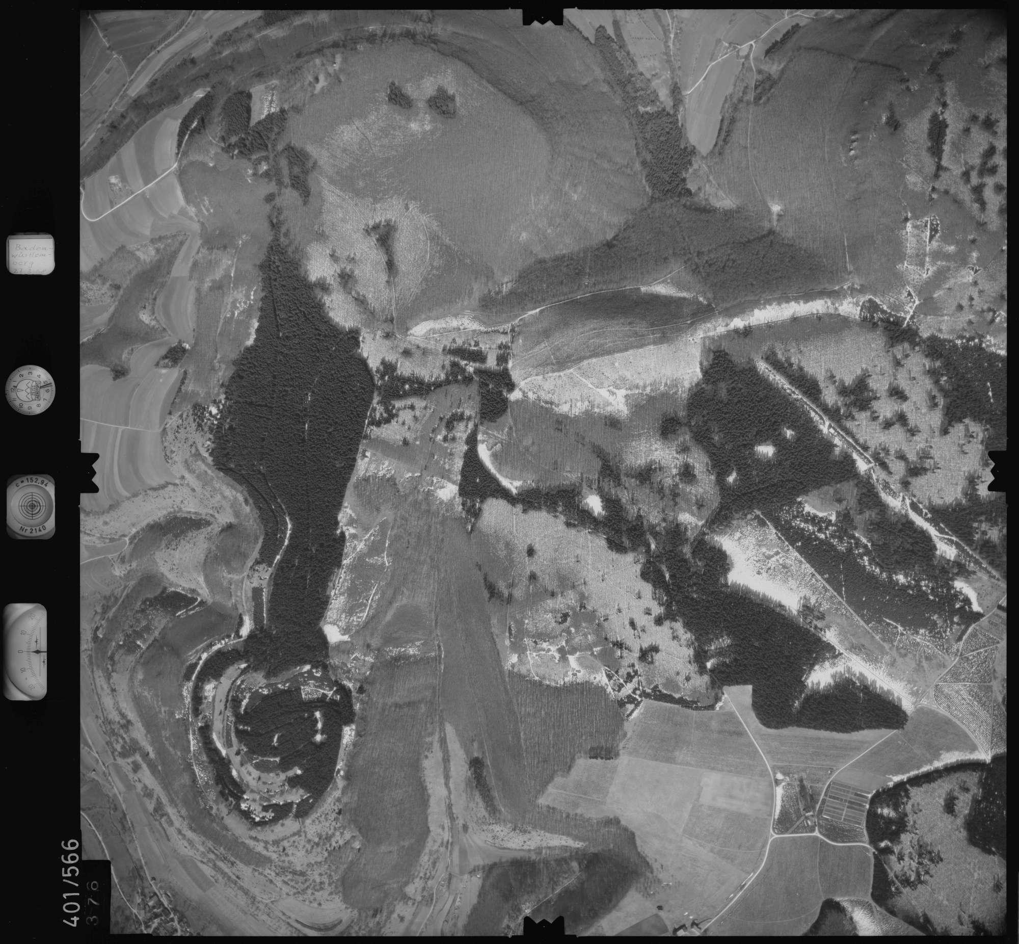 Luftbild: Film 10 Bildnr. 376, Bild 1