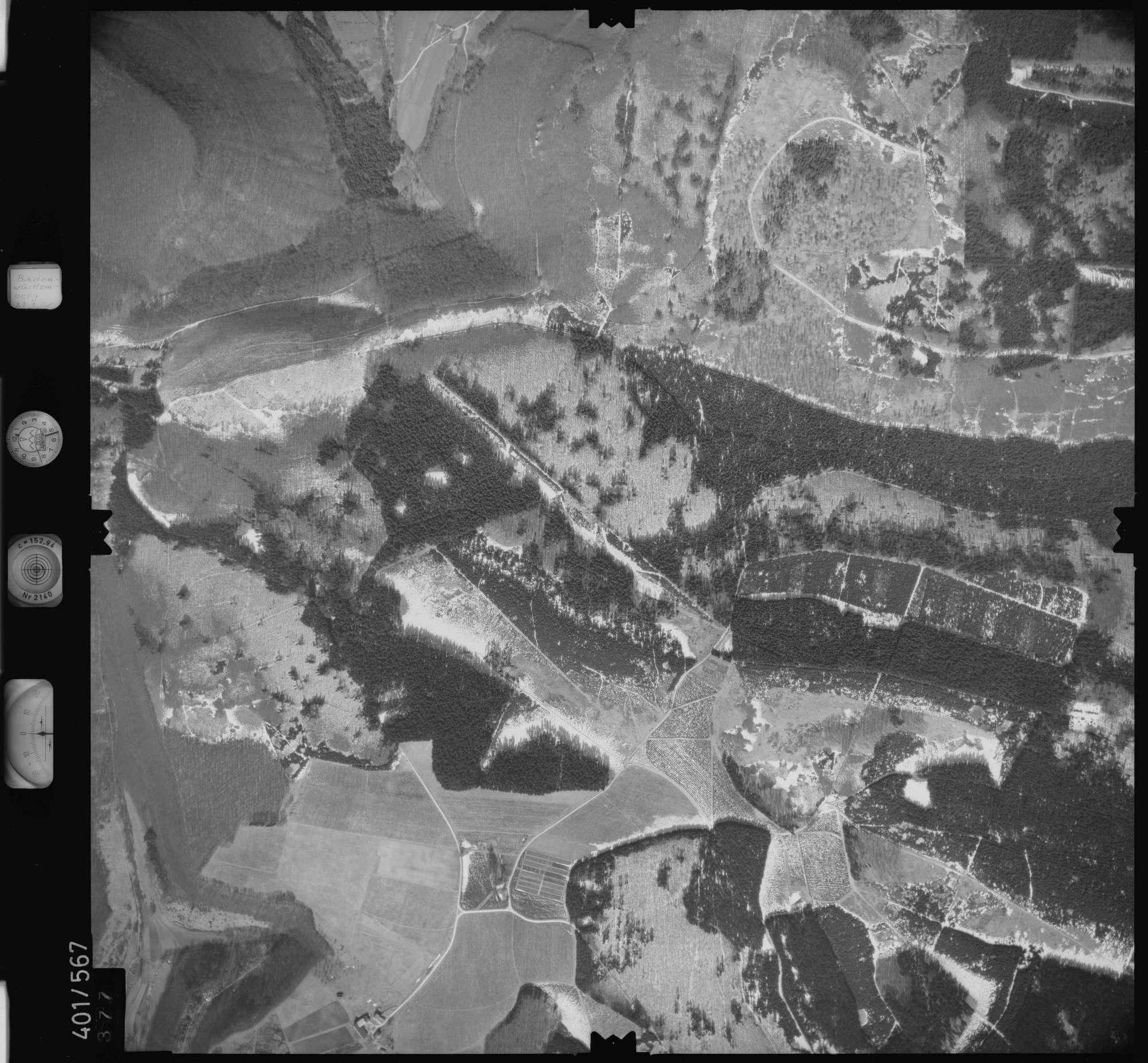 Luftbild: Film 10 Bildnr. 377, Bild 1