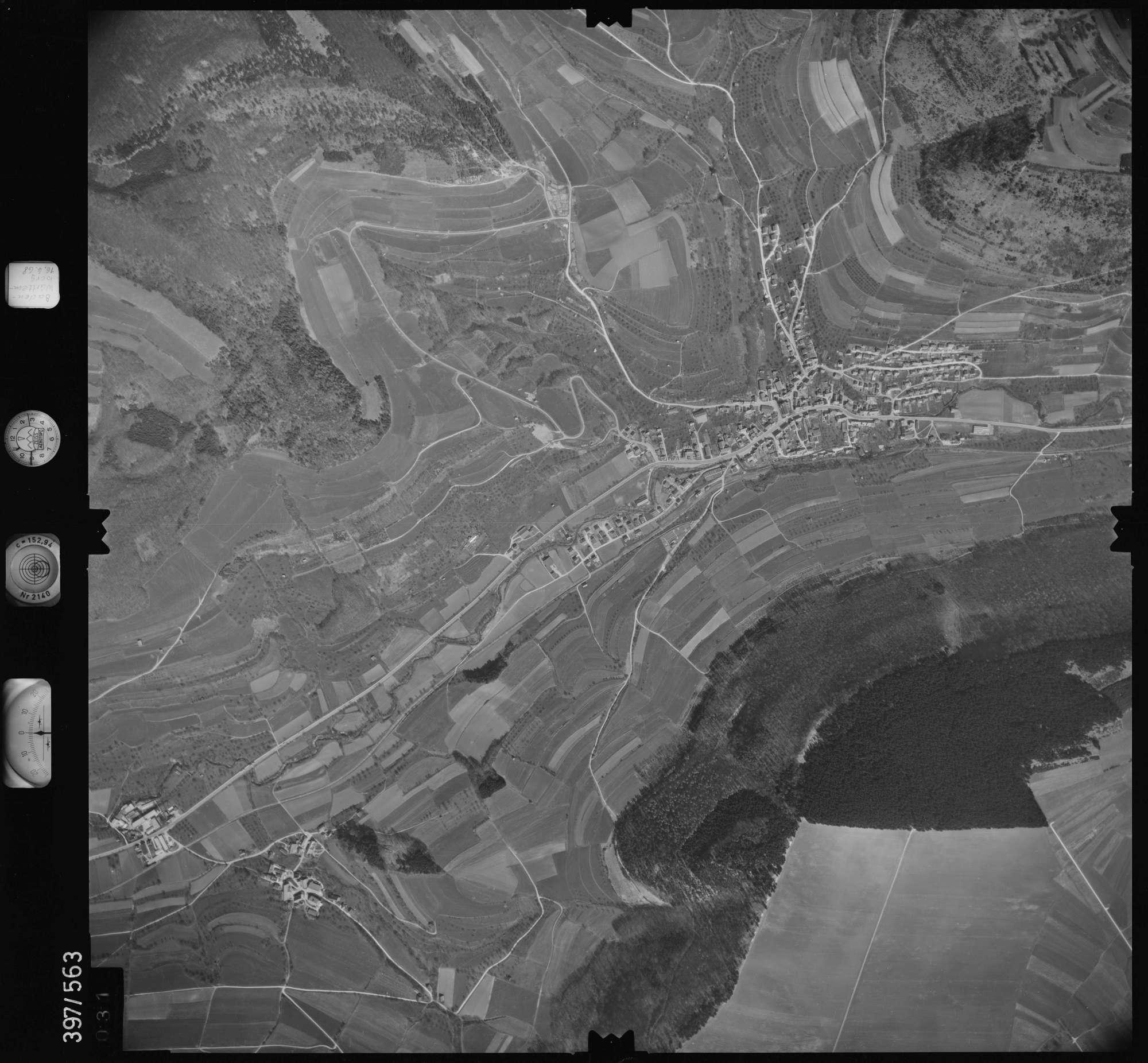 Luftbild: Film 32 Bildnr. 31, Bild 1