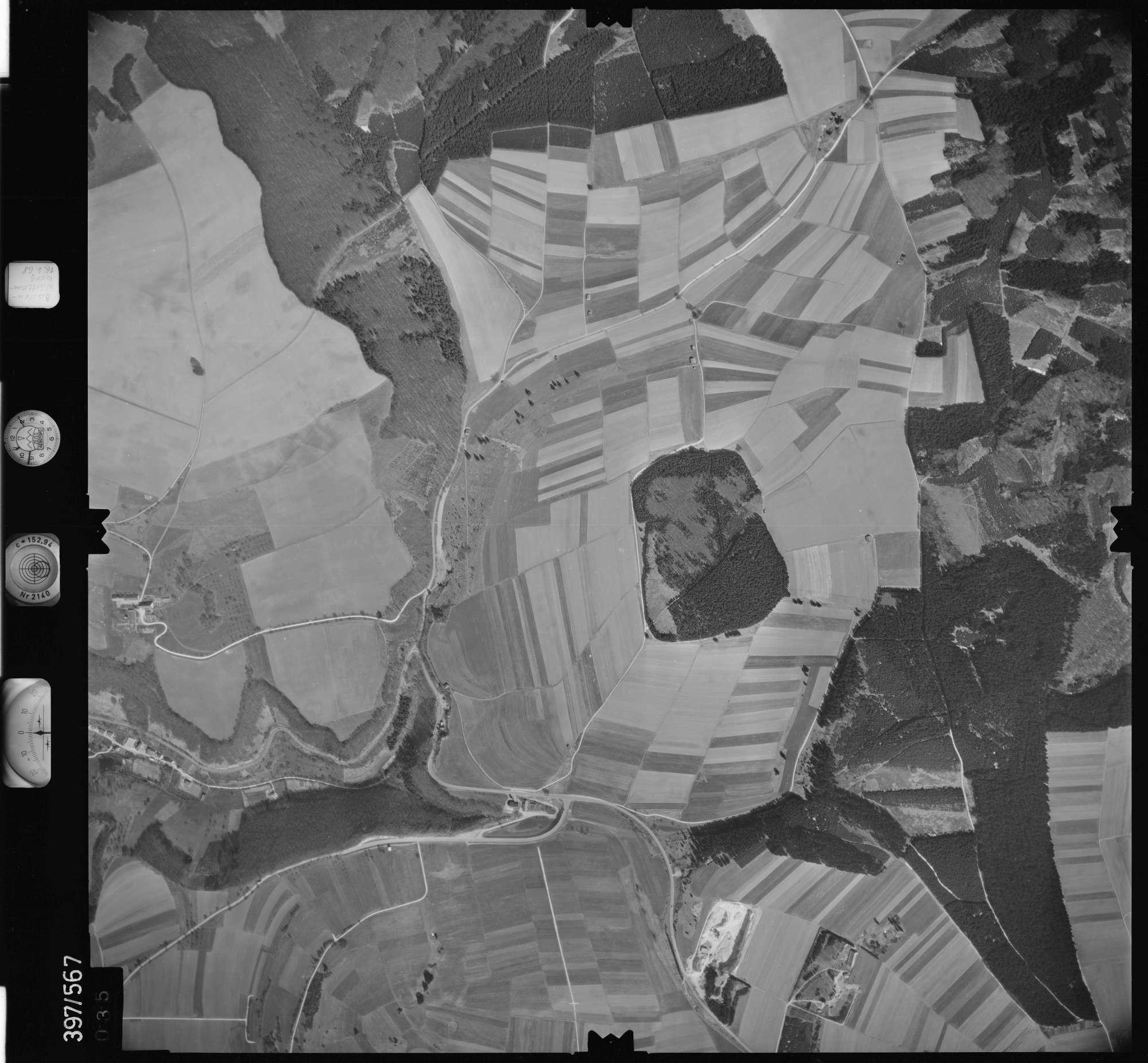 Luftbild: Film 32 Bildnr. 35, Bild 1