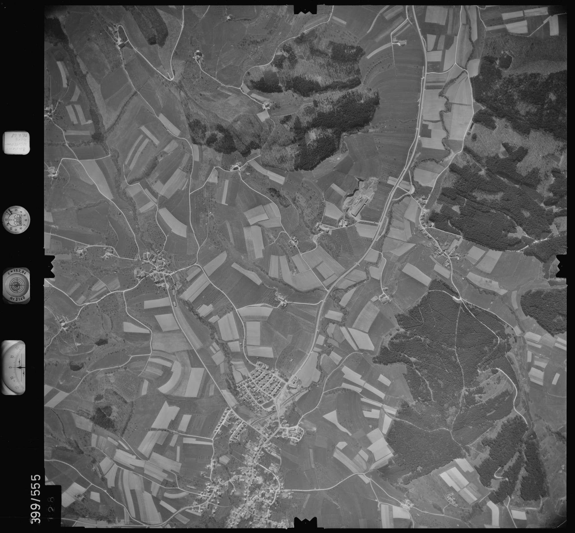 Luftbild: Film 32 Bildnr. 128, Bild 1
