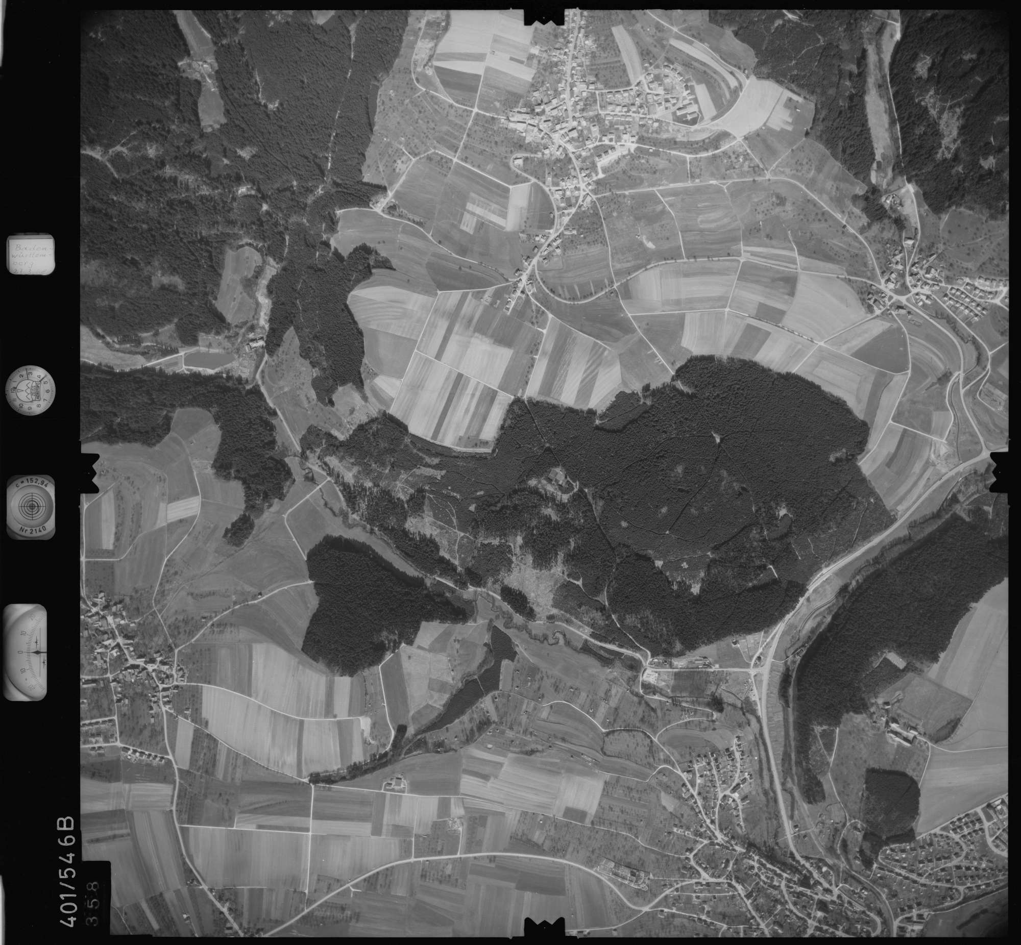 Luftbild: Film 10 Bildnr. 358, Bild 1