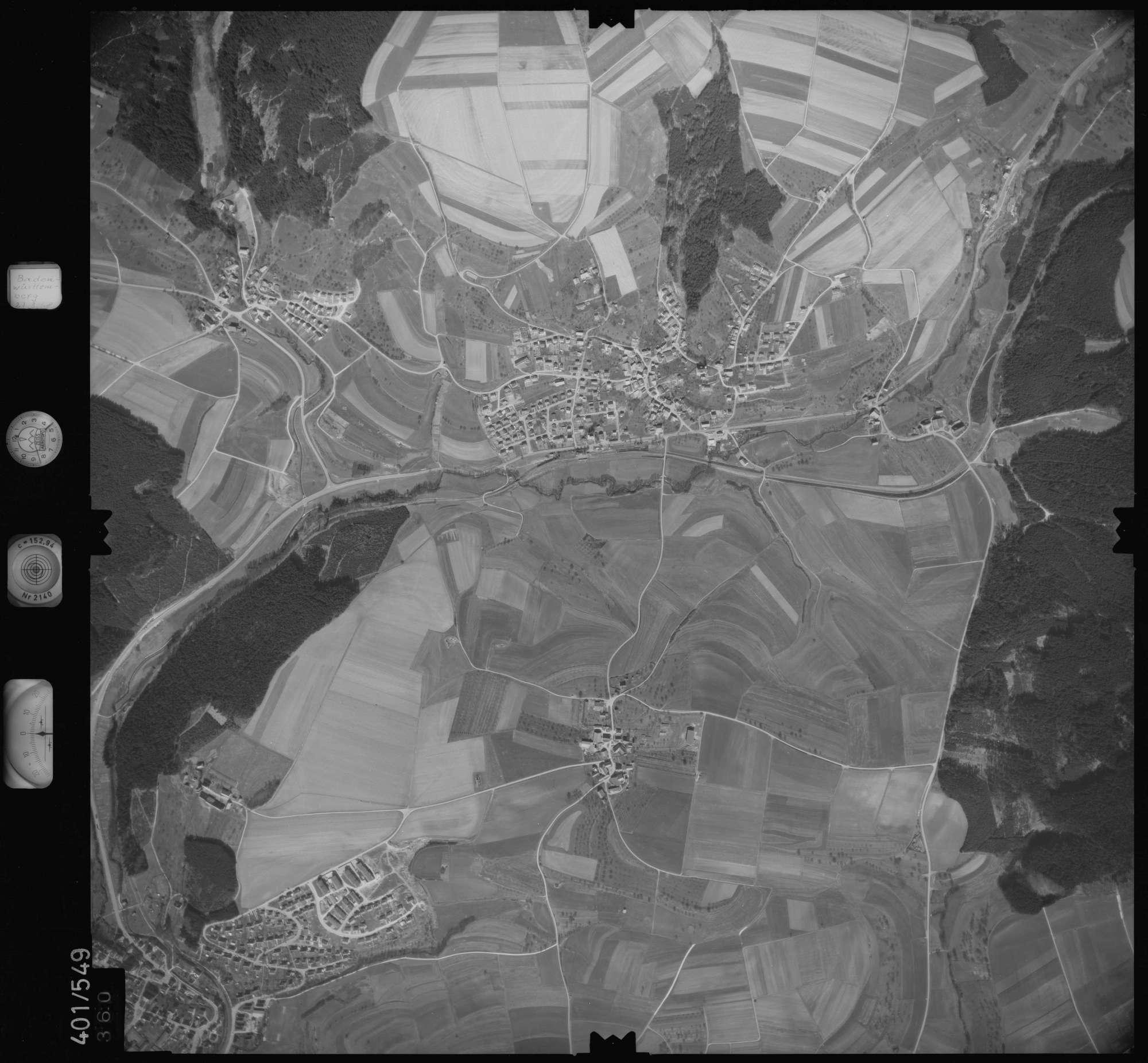 Luftbild: Film 10 Bildnr. 360, Bild 1