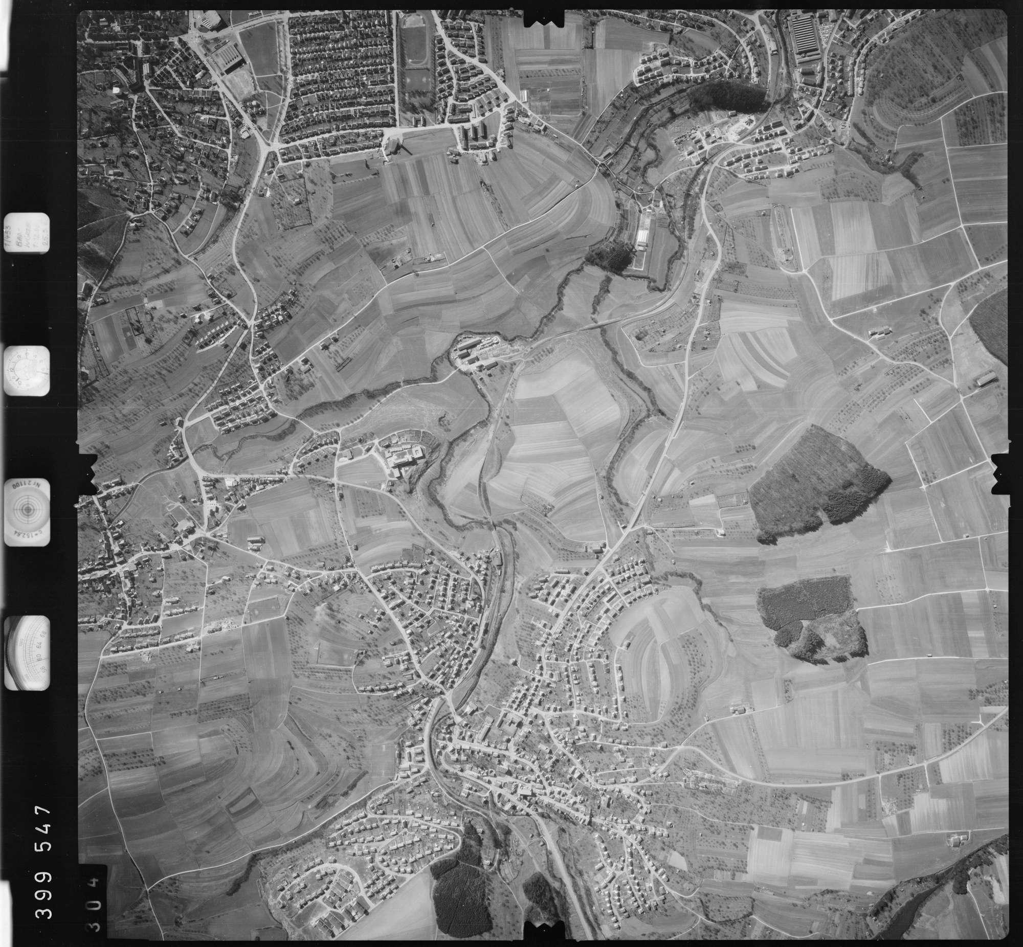 Luftbild: Film 13 Bildnr. 304, Bild 1