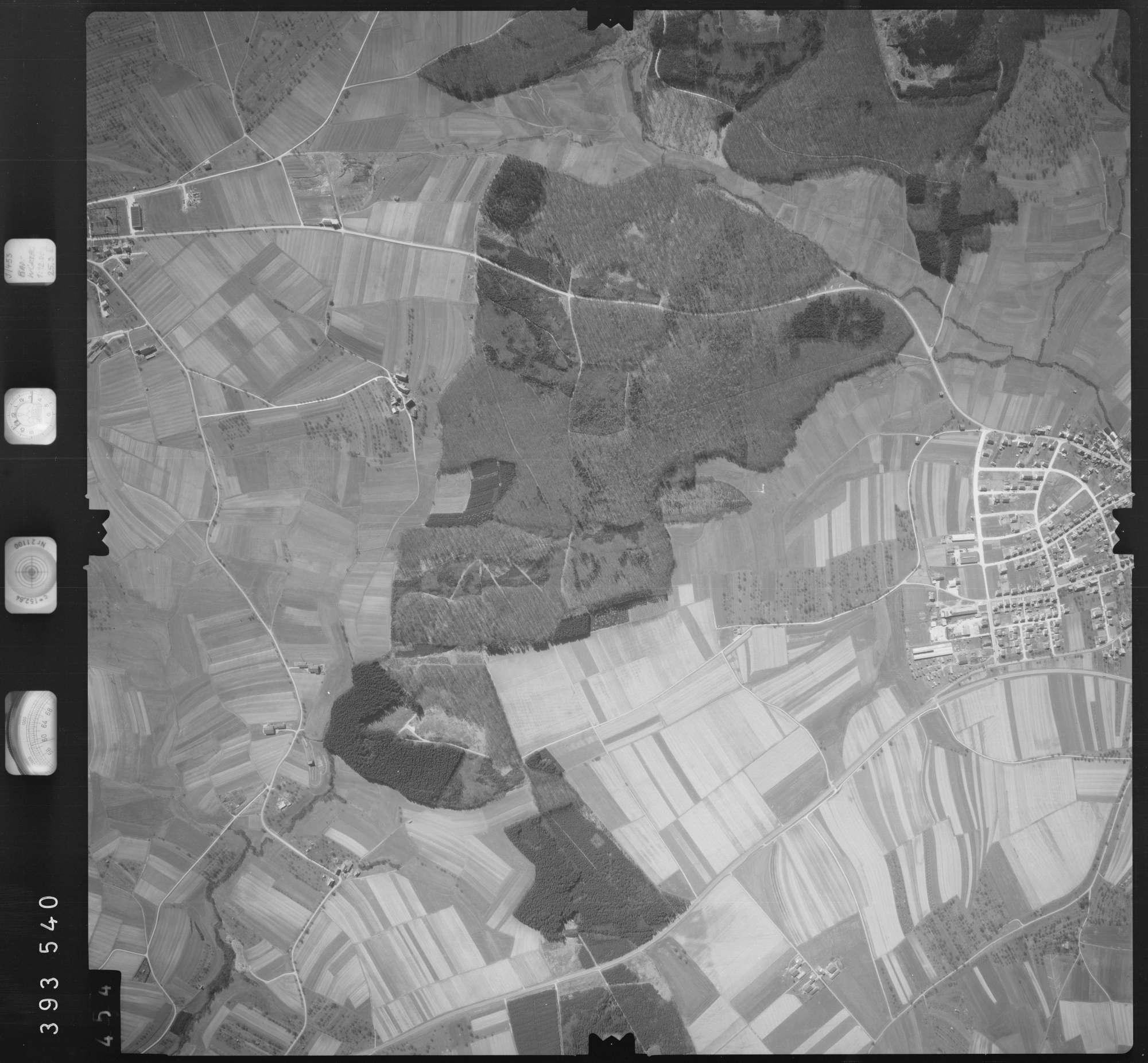 Luftbild: Film 13 Bildnr. 454, Bild 1