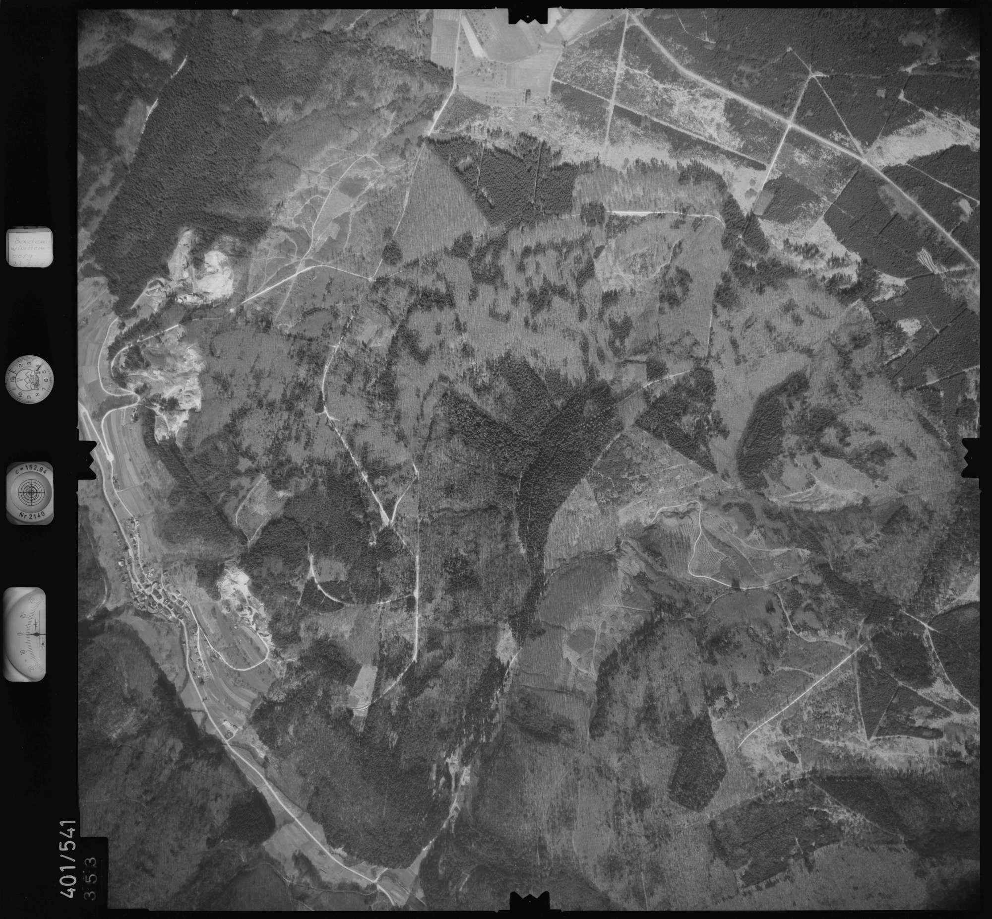 Luftbild: Film 10 Bildnr. 353, Bild 1