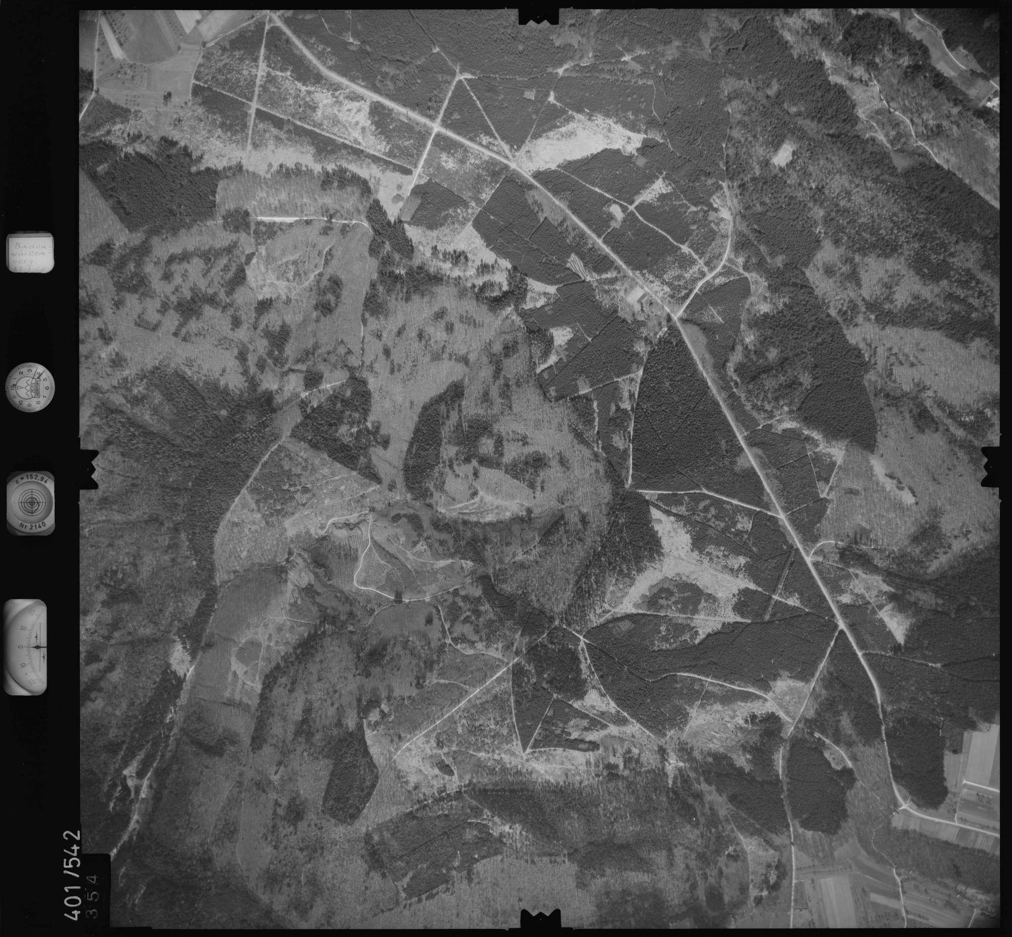 Luftbild: Film 10 Bildnr. 354, Bild 1