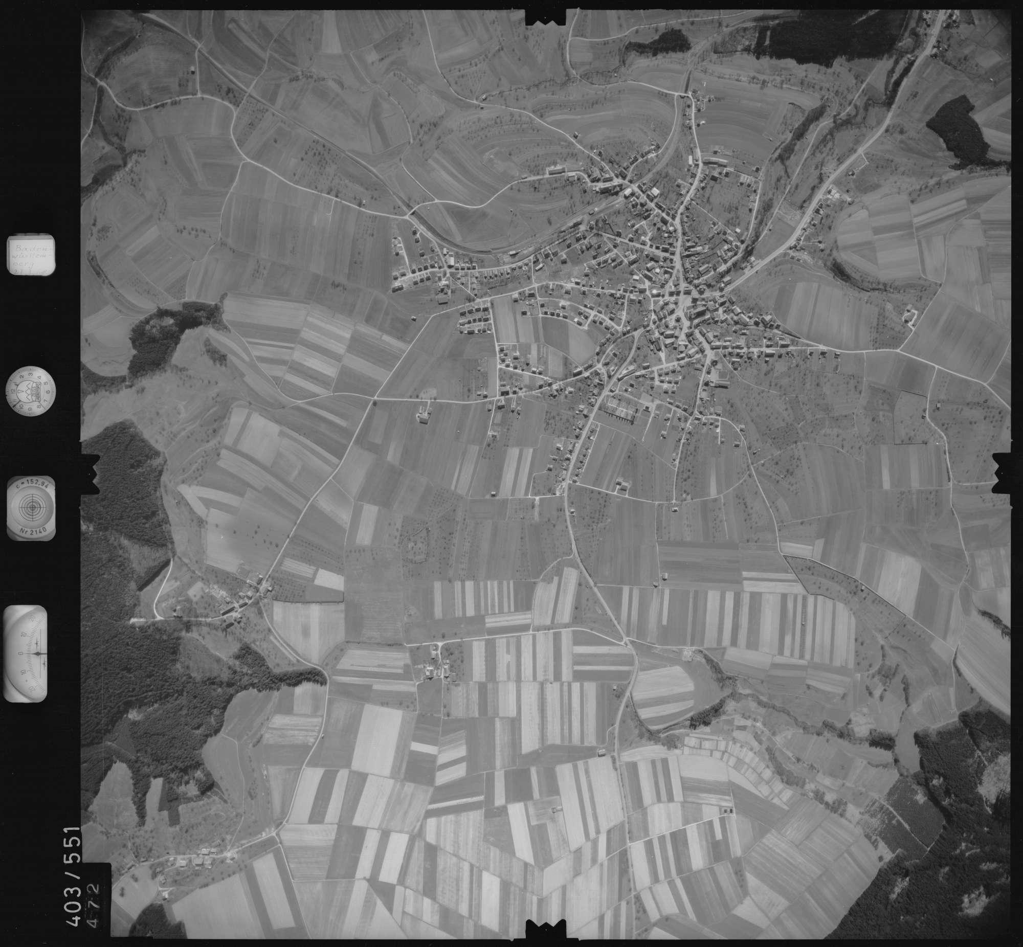 Luftbild: Film 10 Bildnr. 472, Bild 1