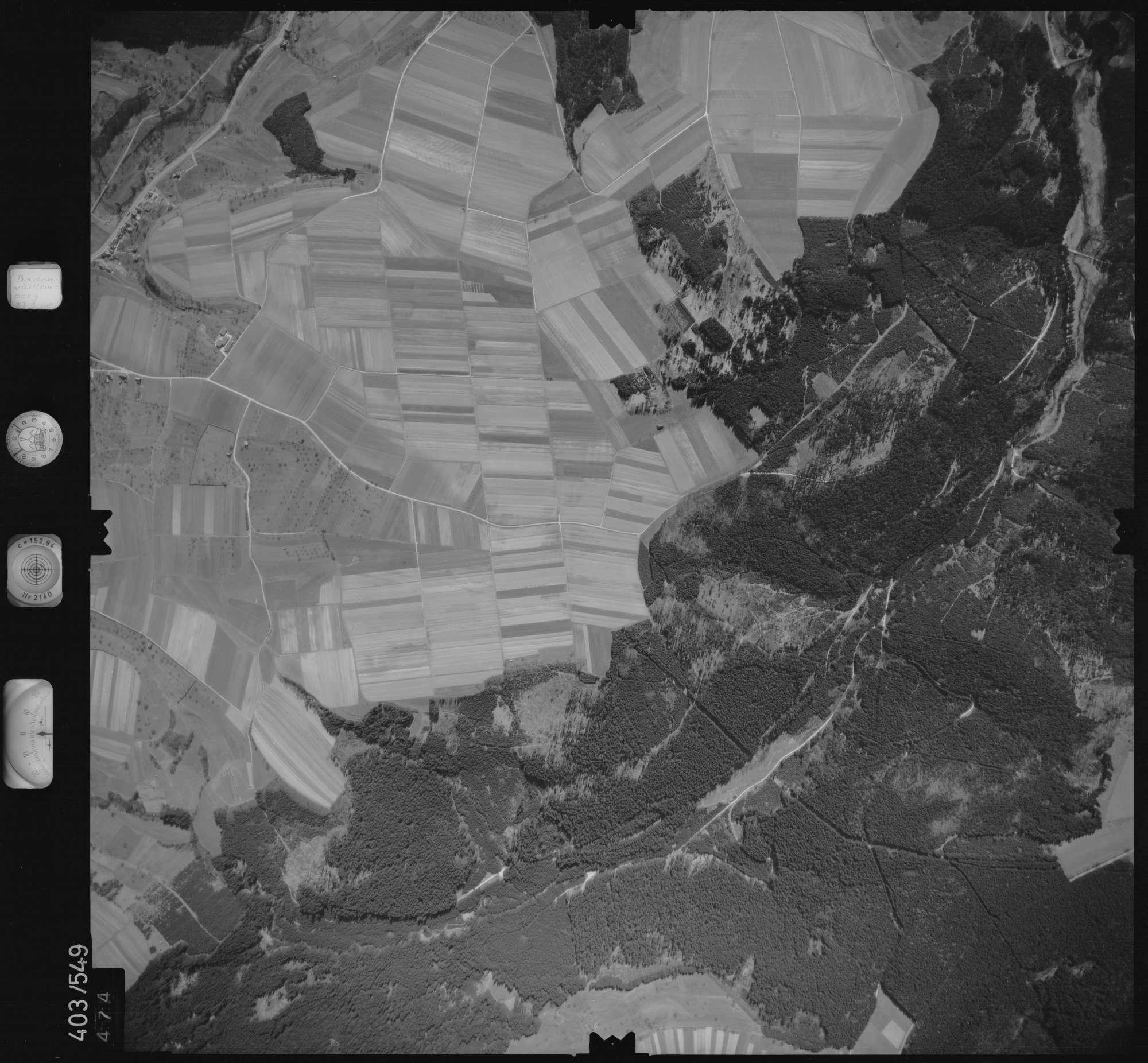 Luftbild: Film 10 Bildnr. 474, Bild 1