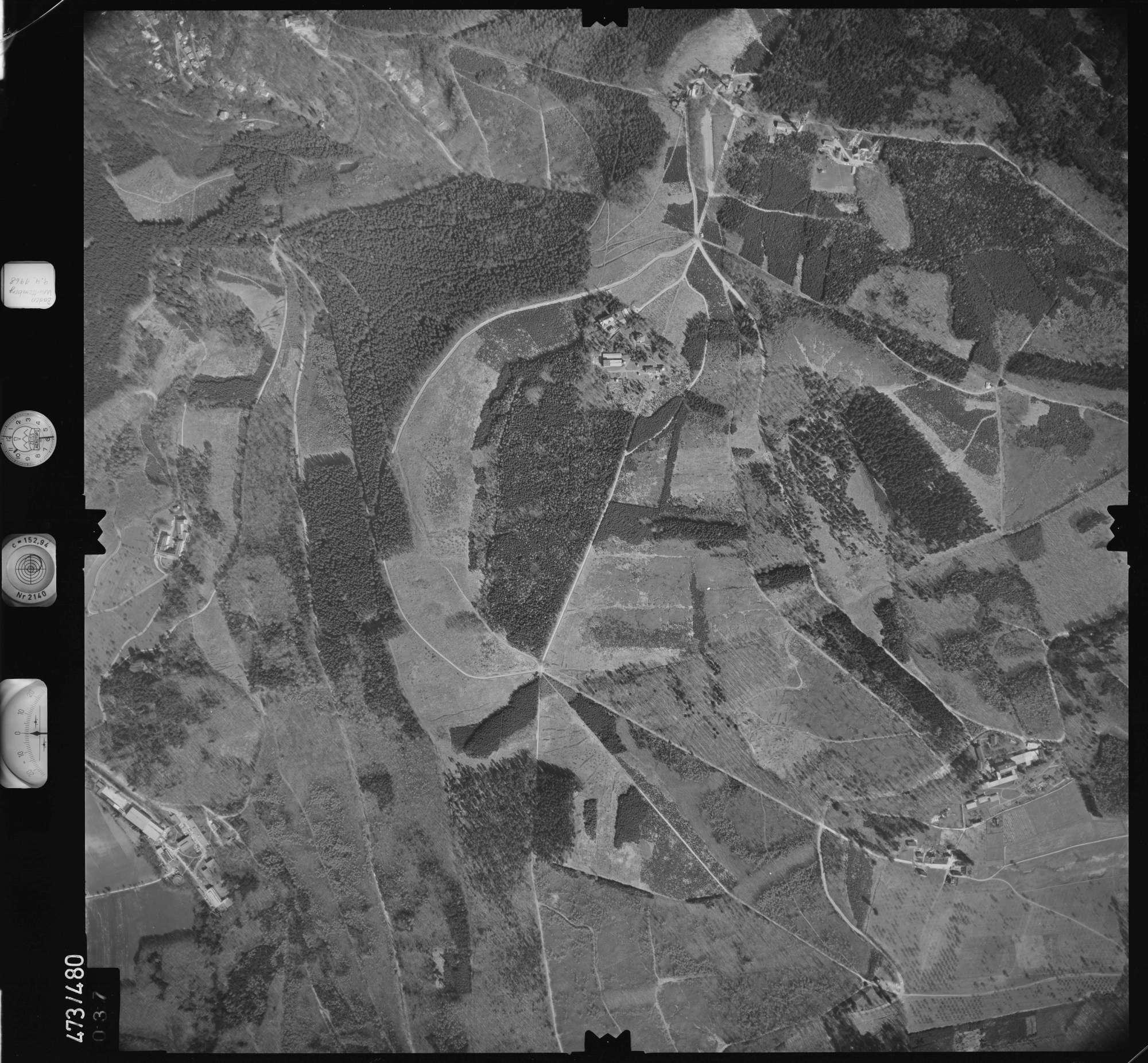 Luftbild: Film 100 Bildnr. 37, Bild 1