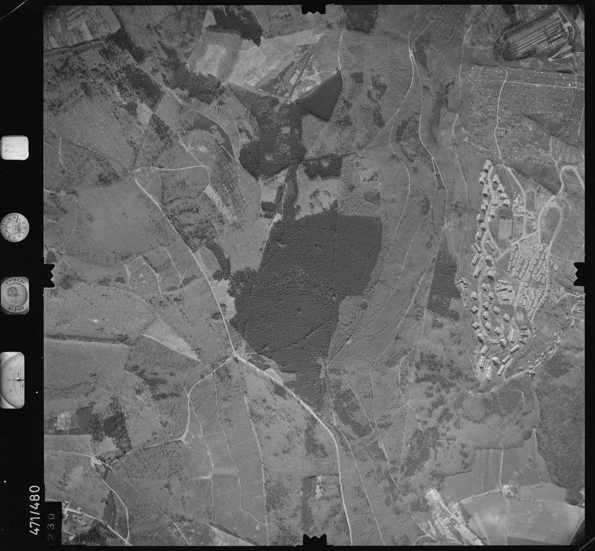 Luftbild: Film 100 Bildnr. 230, Bild 1